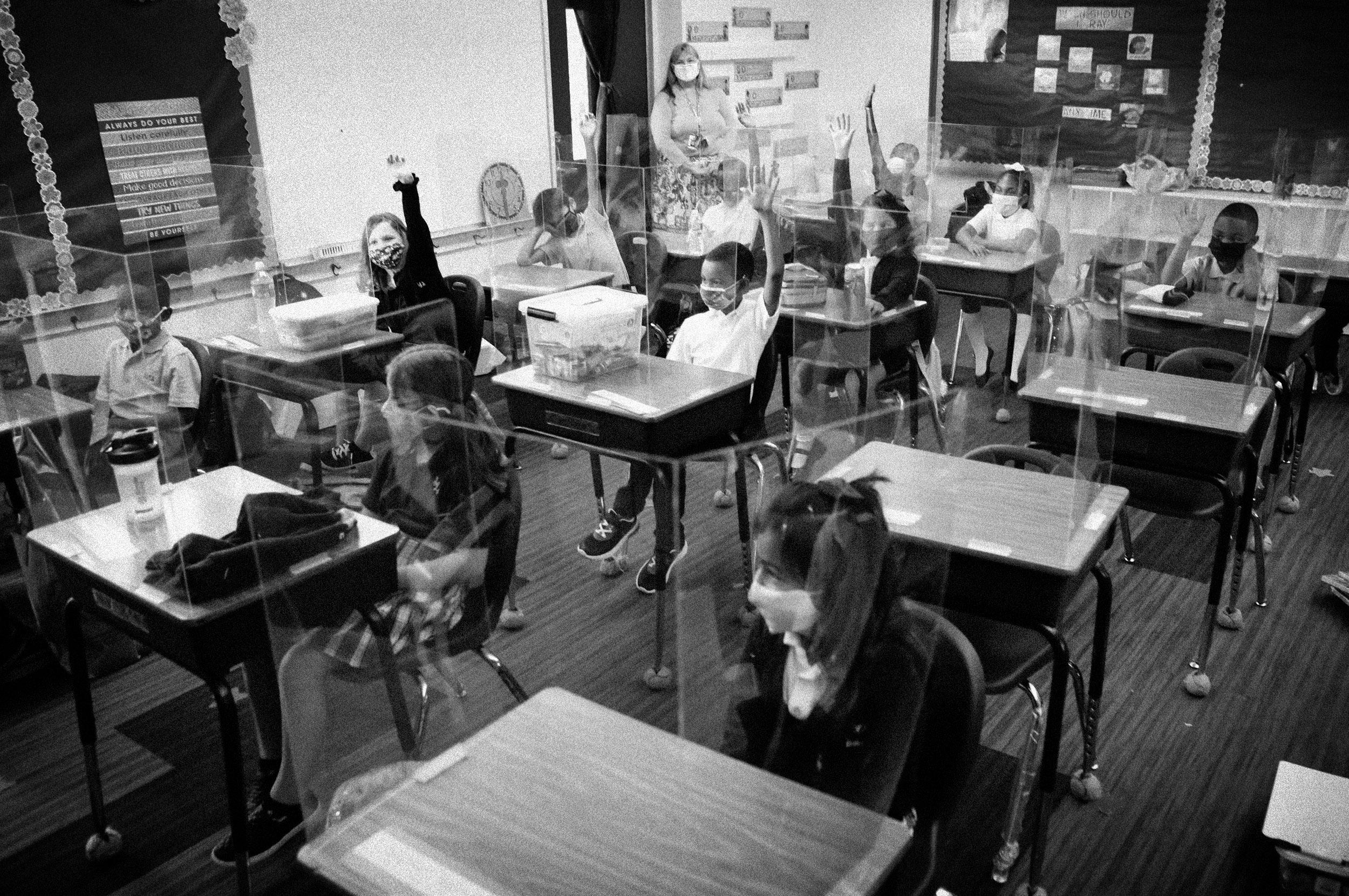 'It's impossible': Lack of Covid safeguards overwhelm school nurses