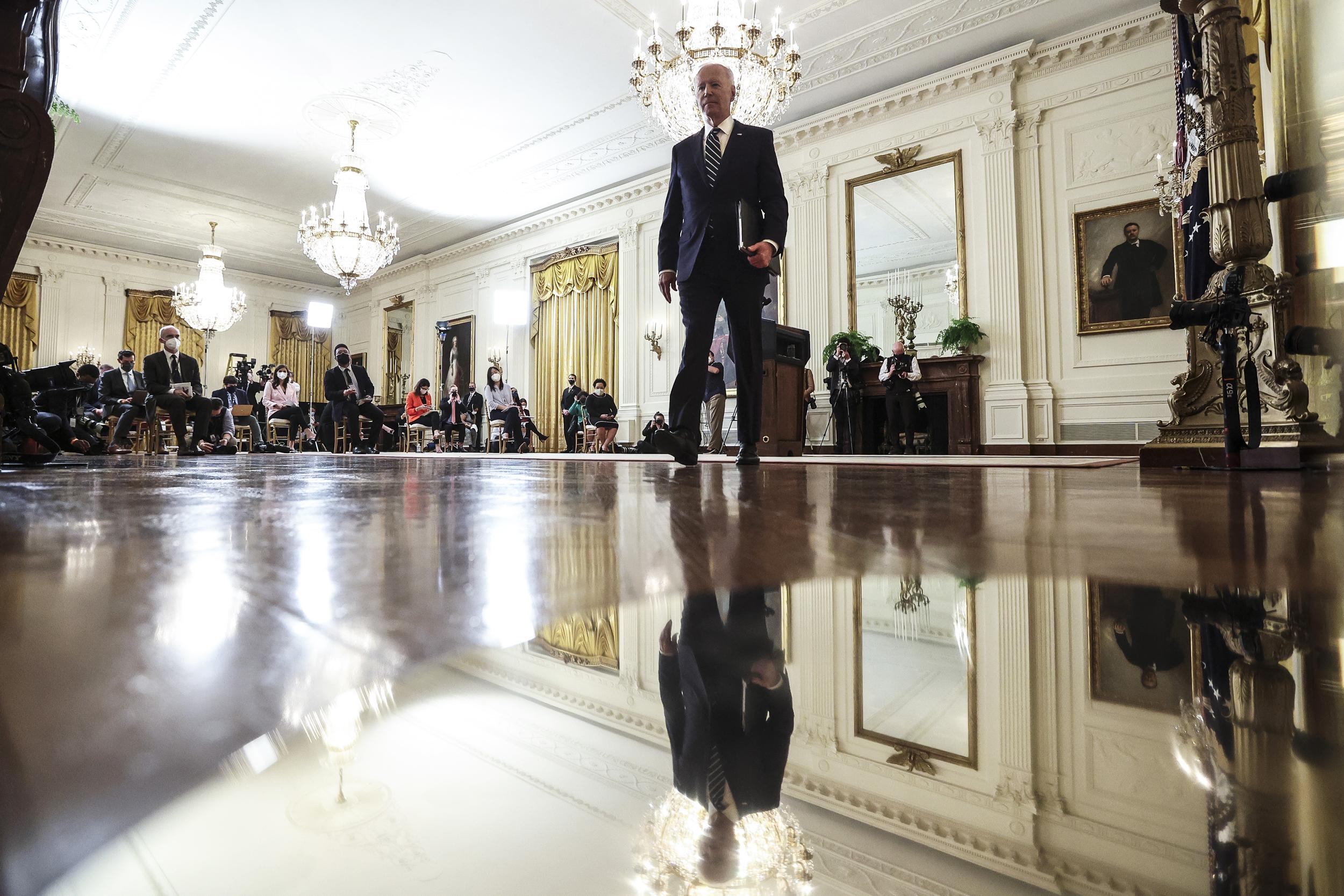 Biden's job ratings decline amid Covid surge, Afghanistan withdrawal in NBC News poll