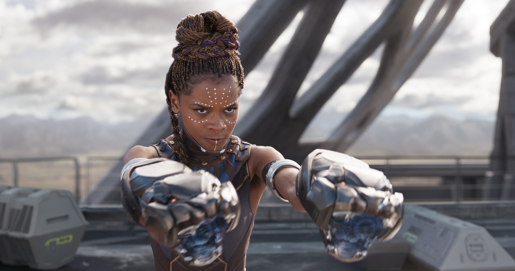 'Black Panther' star Letitia Wright injured while filming stunt on set of sequel