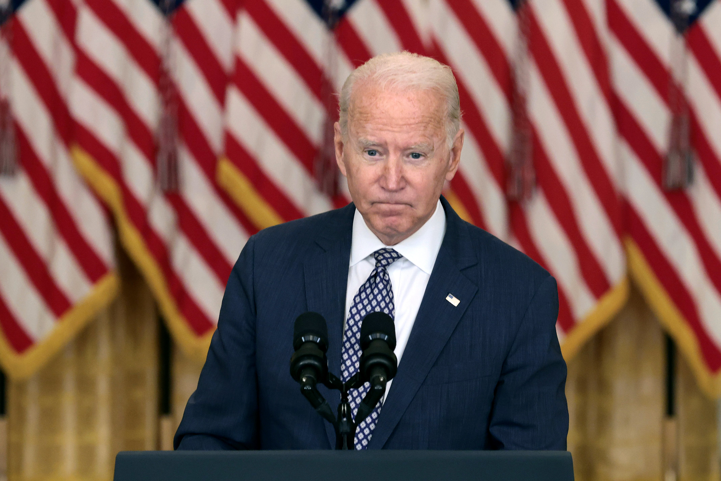 Biden's silver lining amid poll slide: Time is still on his side