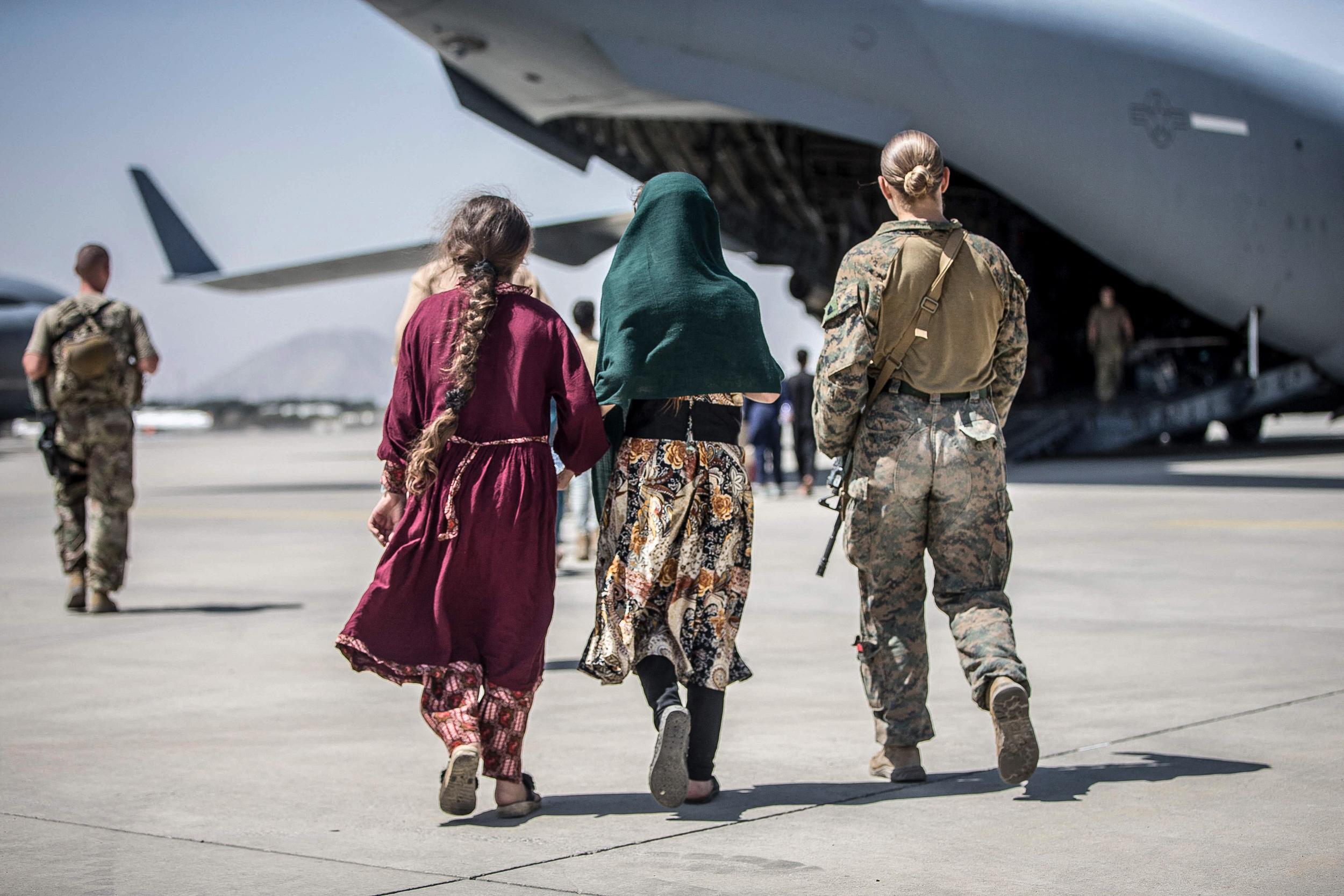 Biden to stick to Aug. 31 Afghan withdrawal deadline as U.S. speeds evacuations