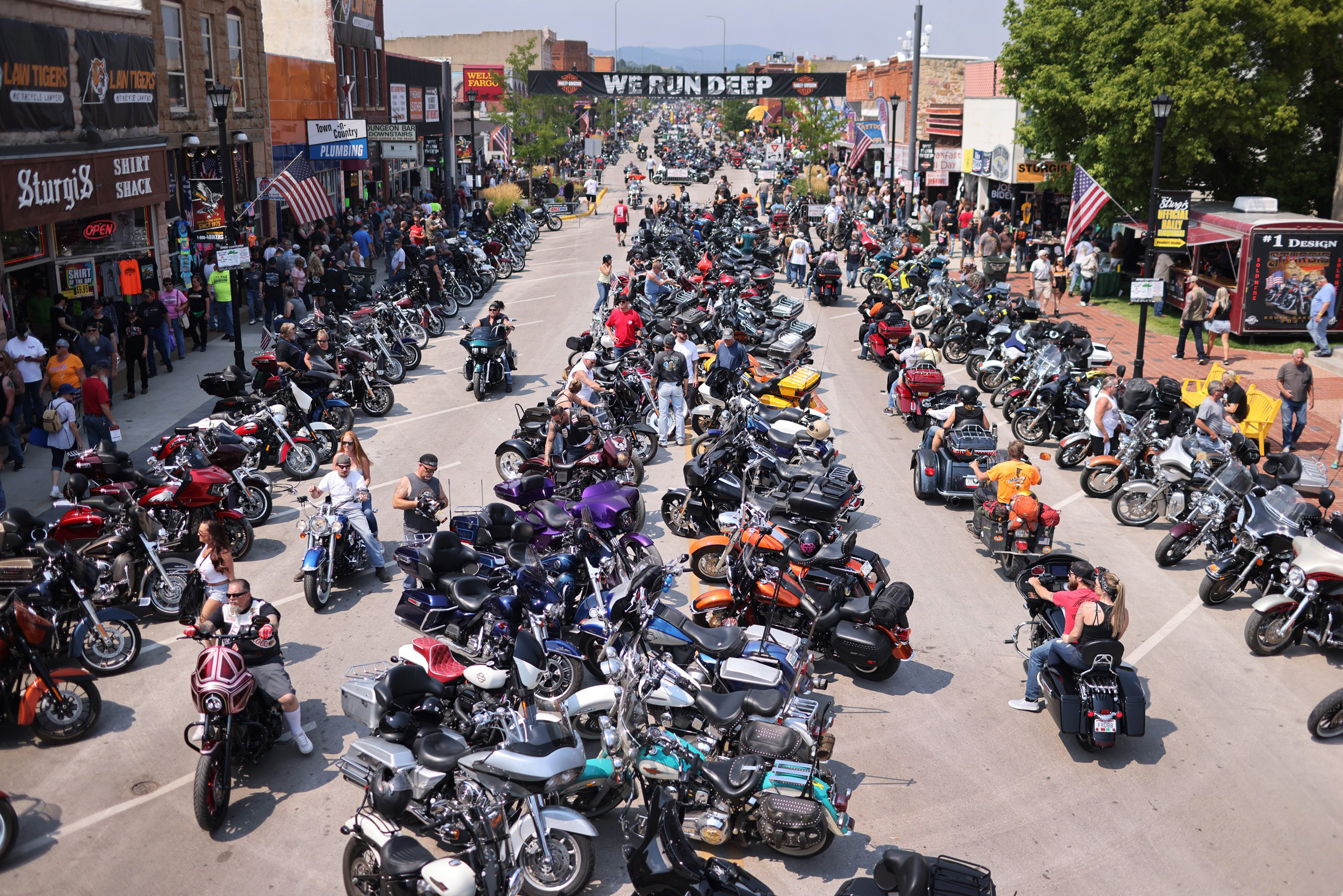 Cases in South Dakota rise nearly sixfold after annual Sturgis motorcycle rally