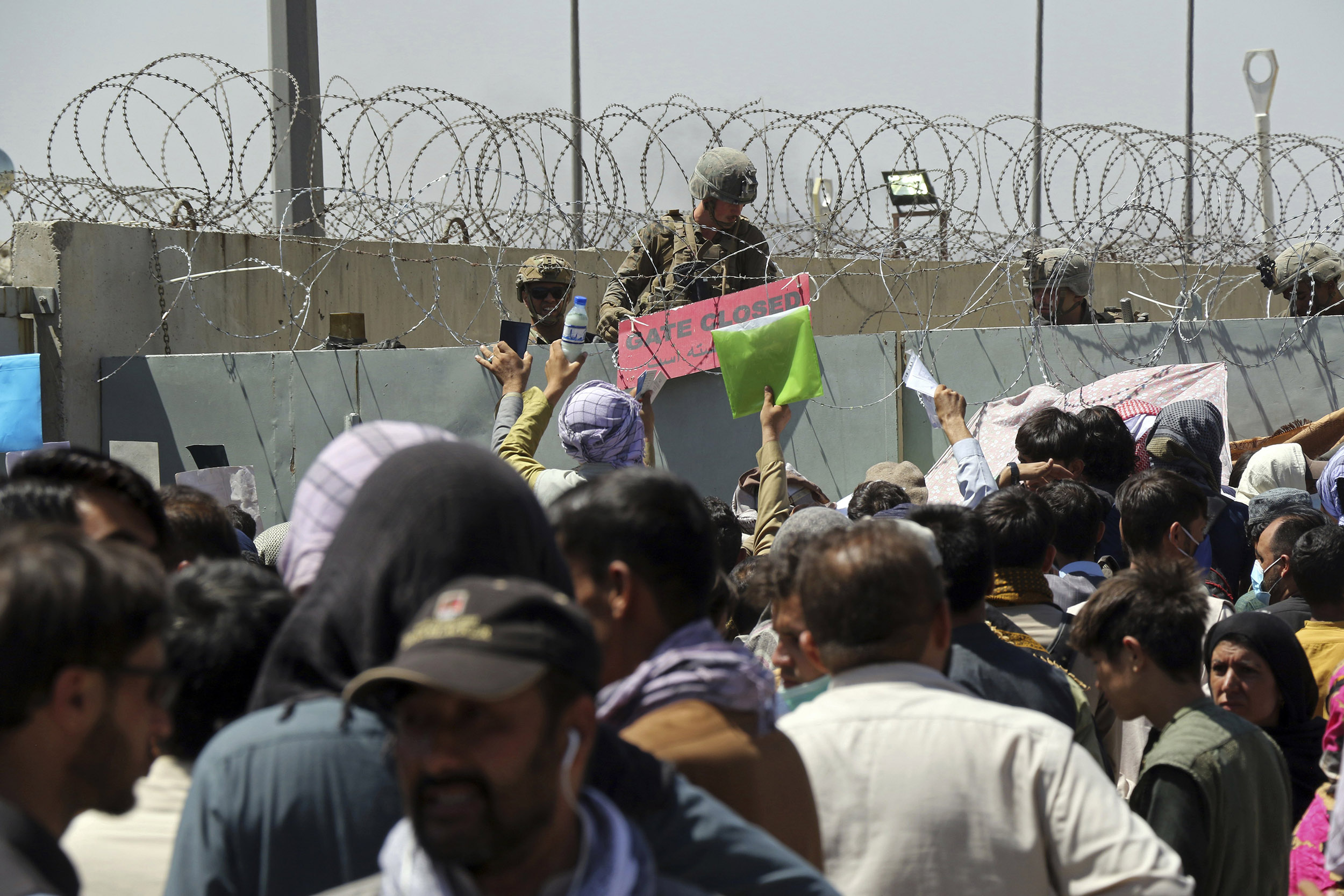 'High threat' of terror attack disrupts Kabul evacuations as Biden deadline looms