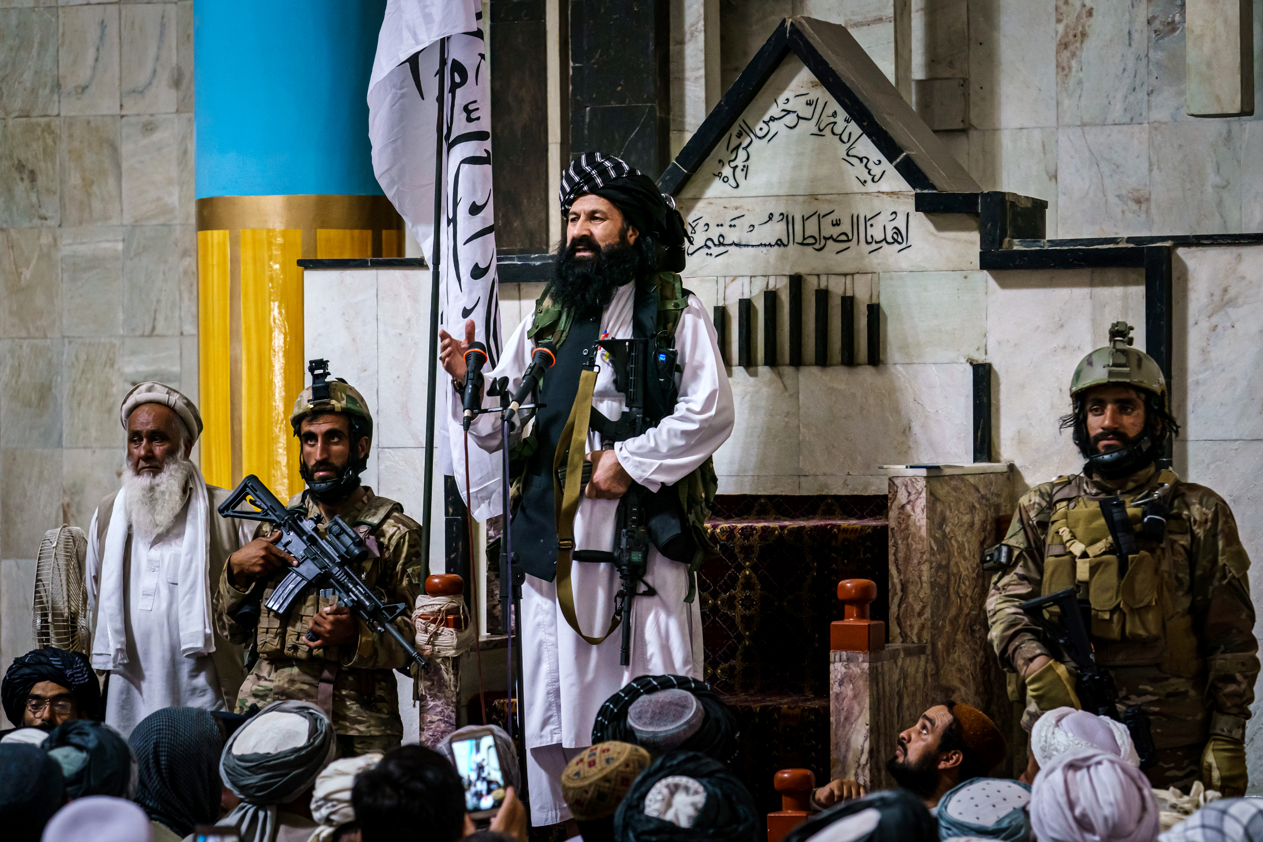 New Taliban head of security for Kabul is wanted by U.S. as terrorist