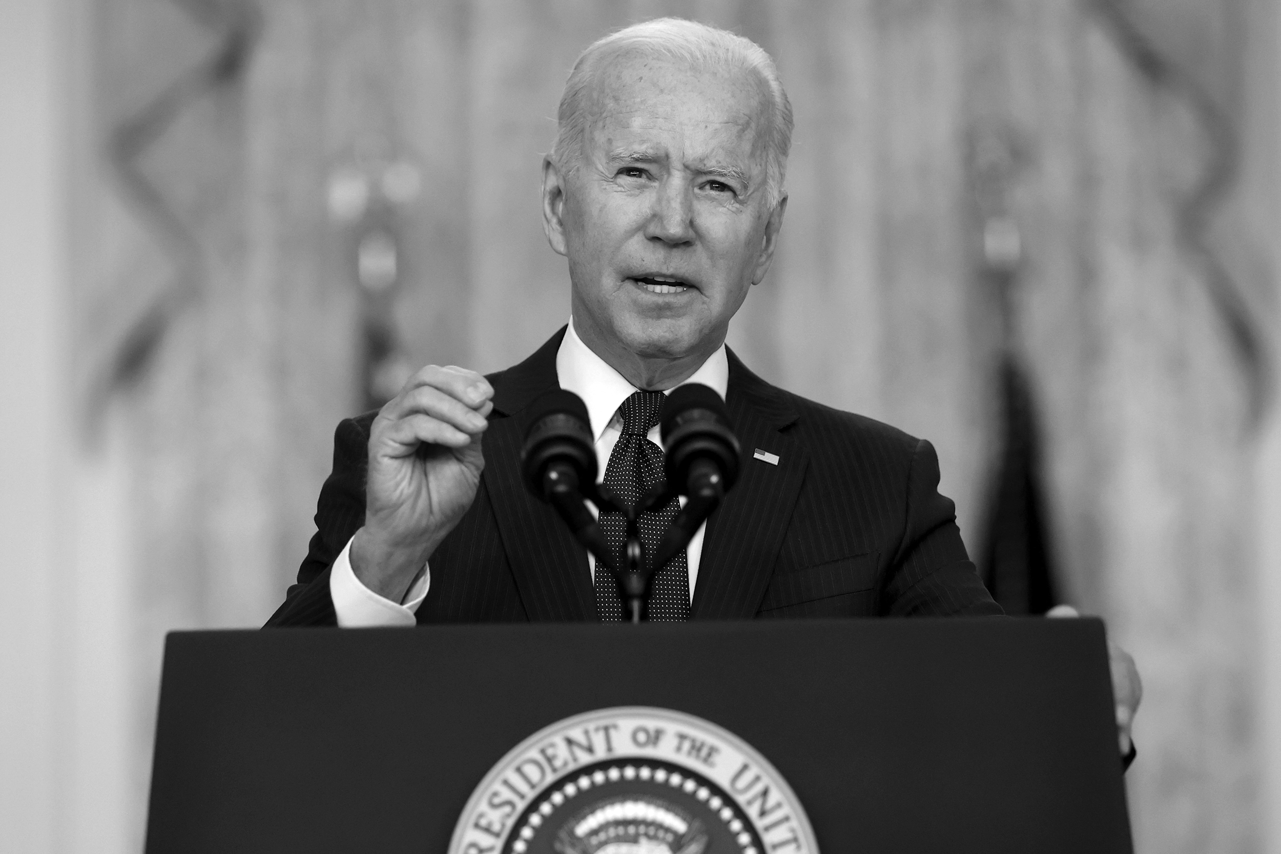 Biden's promise: To kill enemies, extract civilians with no ground force