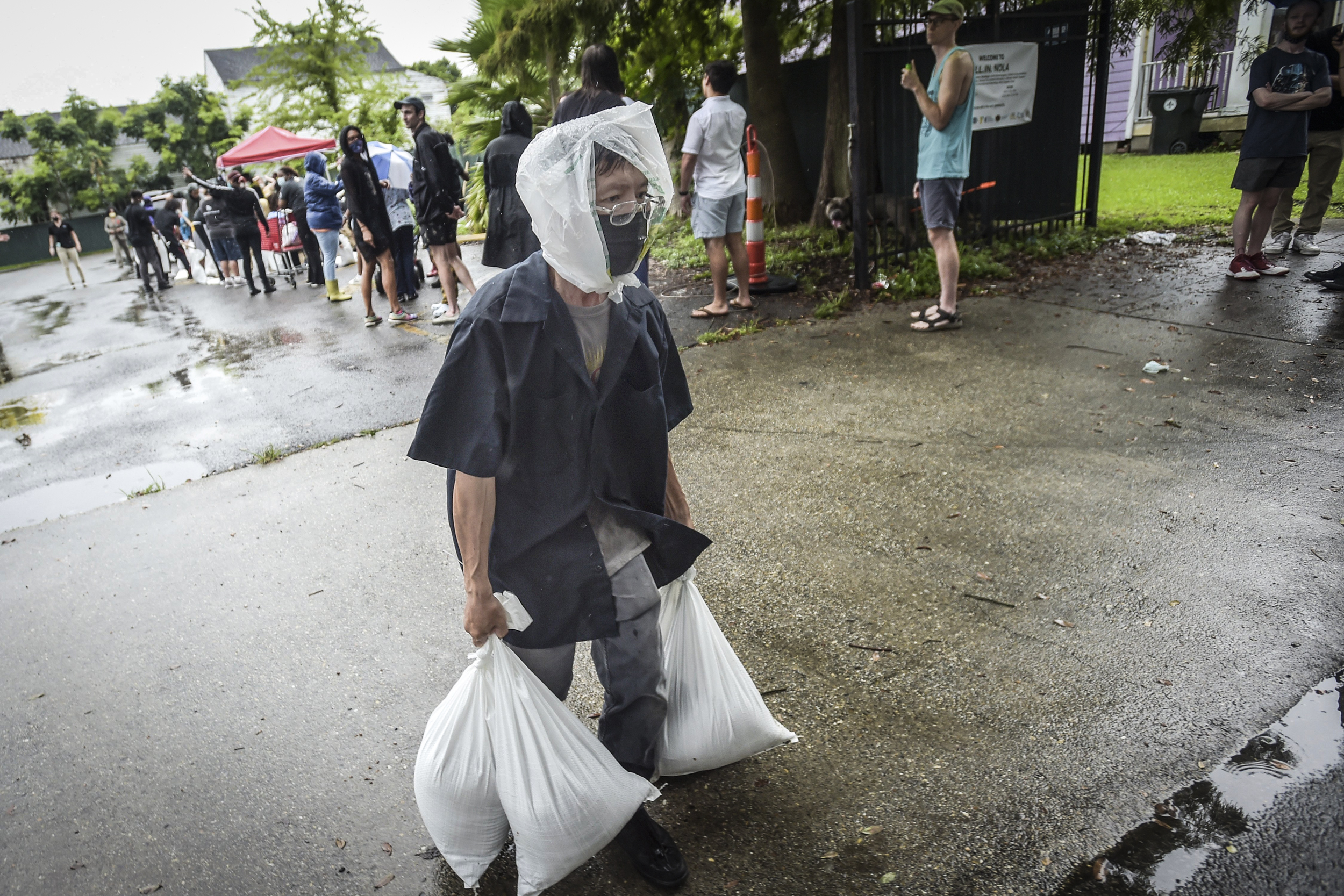 'Full disaster mode': New Orleans hospitals brace for dual emergencies