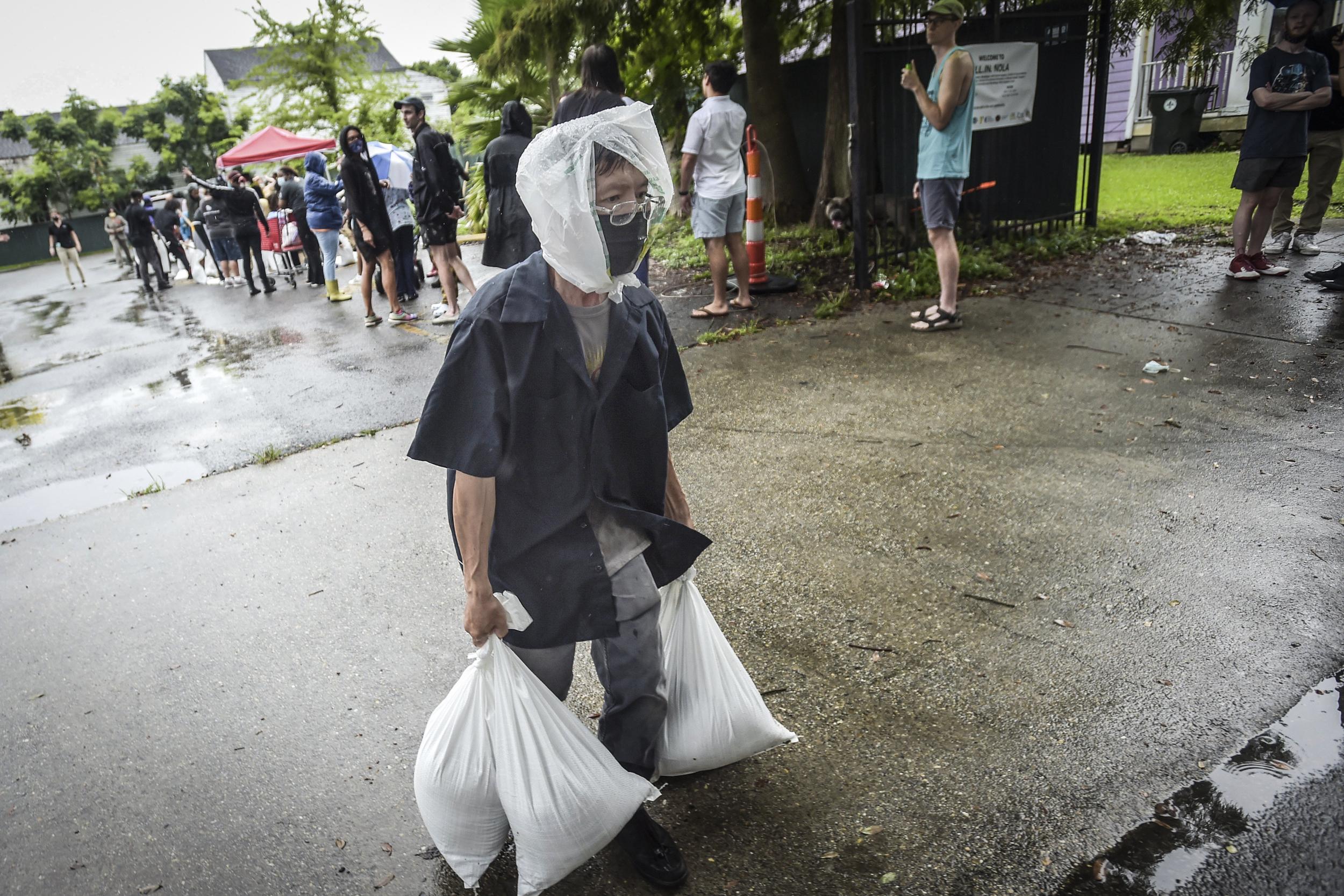 Hurricane Ida on track to slam New Orleans amid severe Covid outbreak