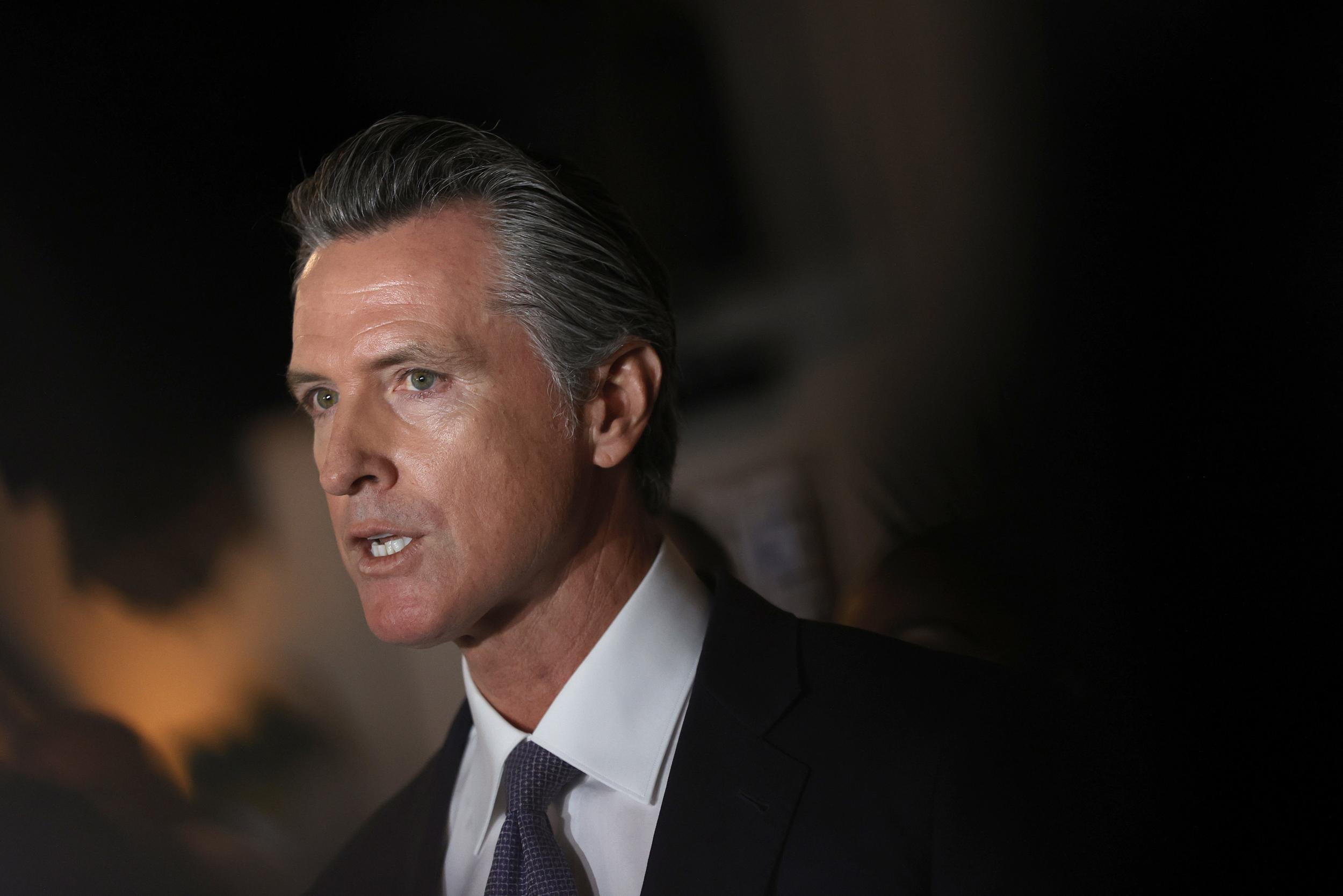 Newsom holds ad-spending edge in California recall's final days