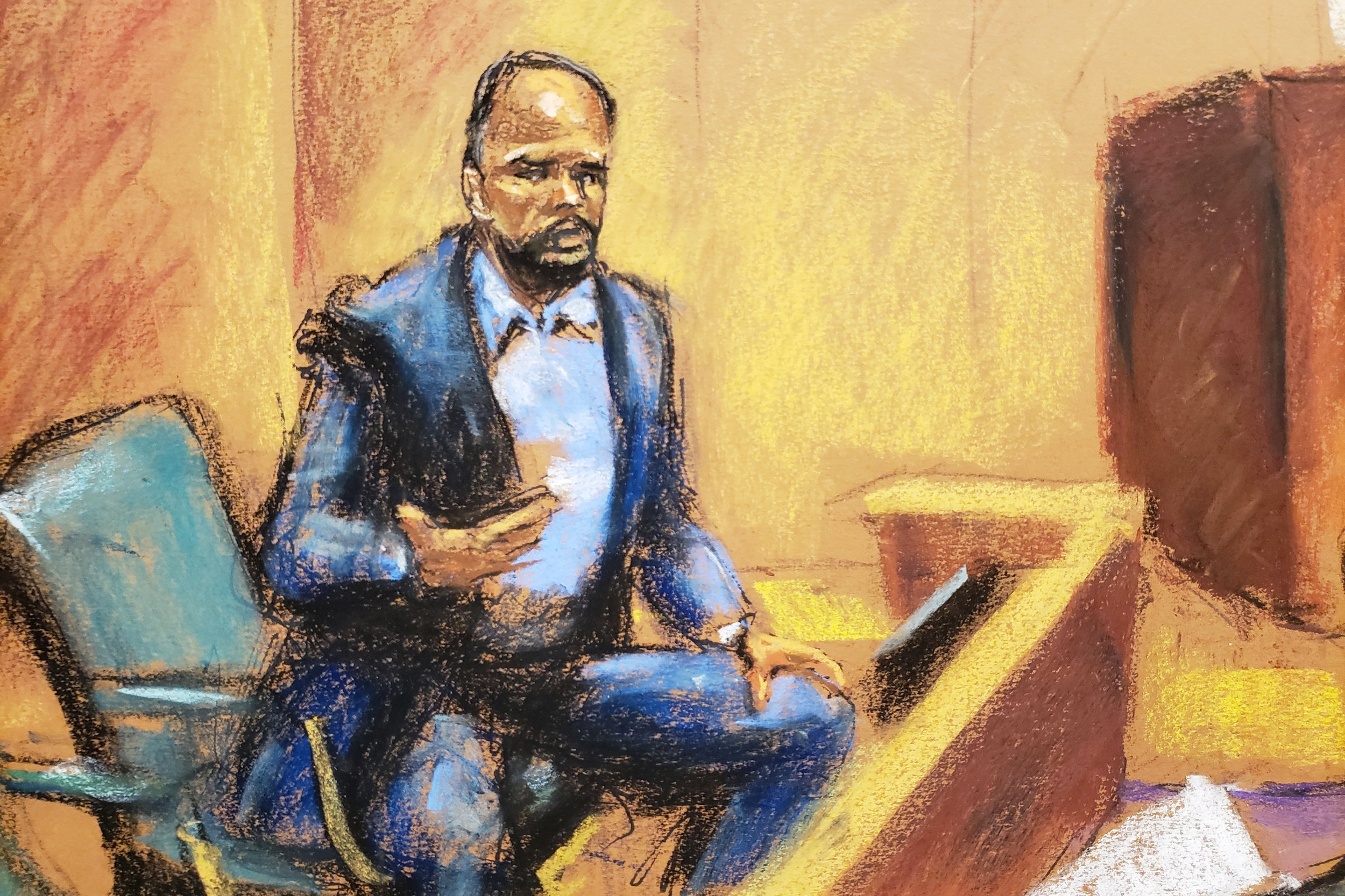 First male accuser testifies against R. Kelly in sex-trafficking trial