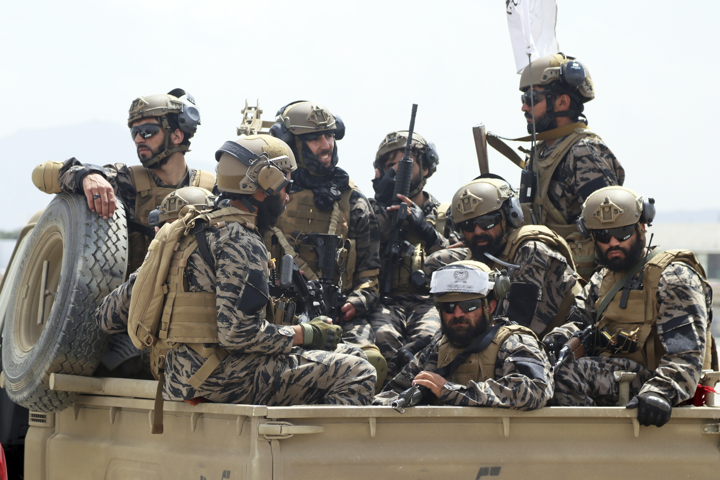 A 'businesslike' Taliban helped Americans, Afghans escape Kabul, officials say