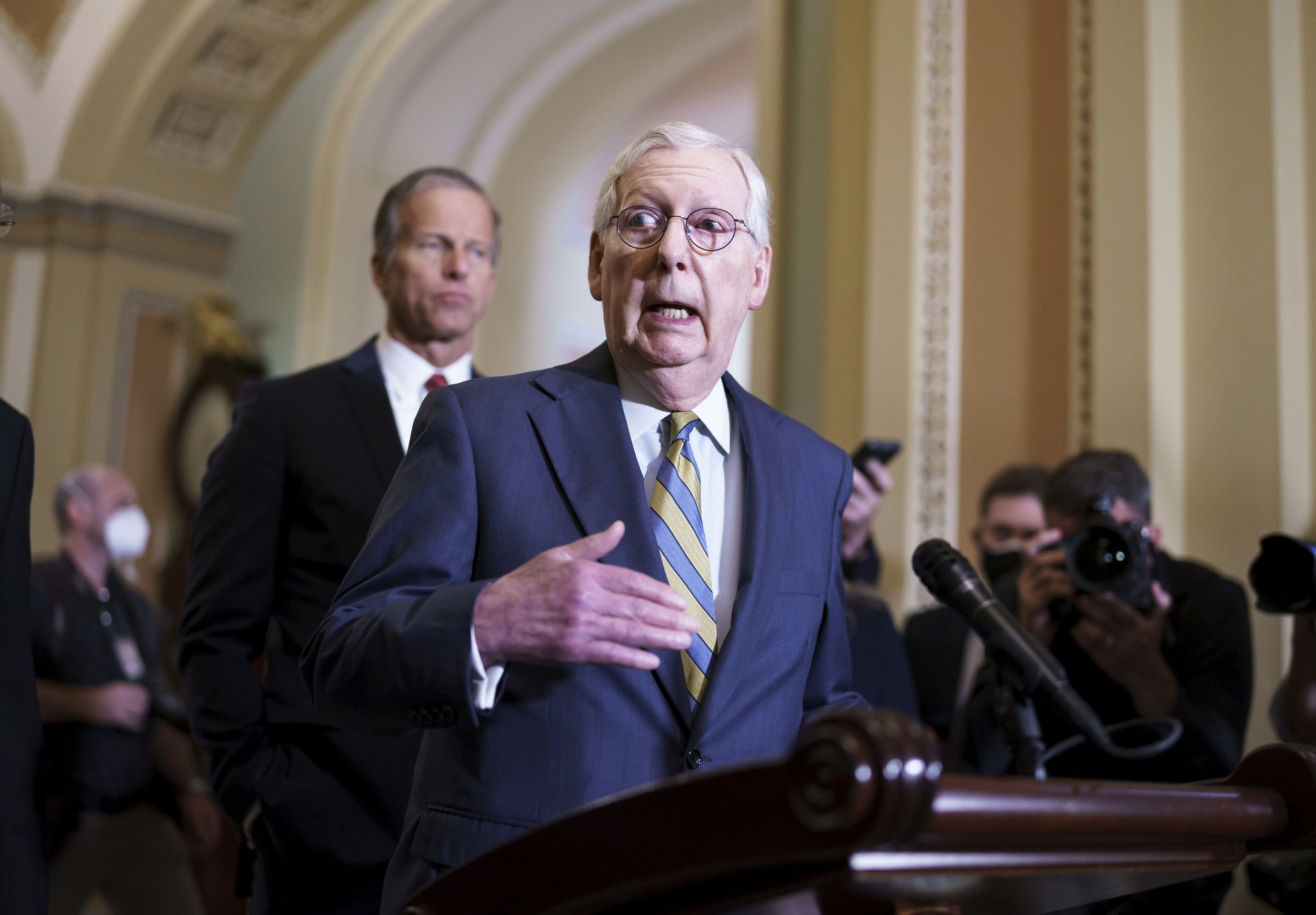 McConnell makes Covid vaccine push in new ad