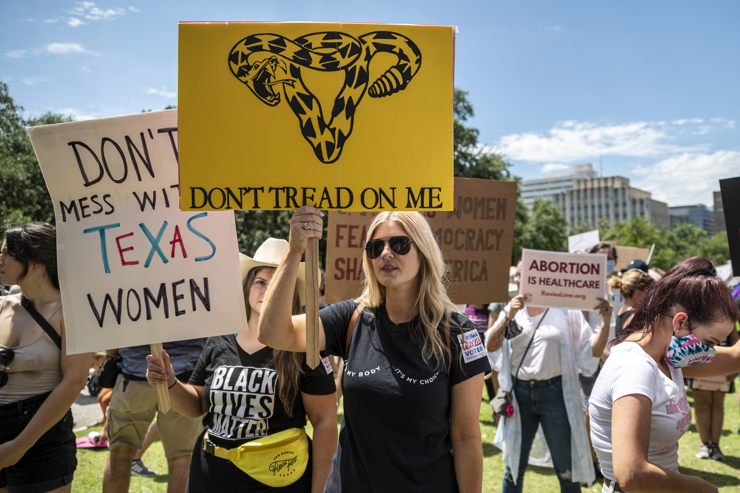 Strict new Texas abortion law takes effect after Supreme Court doesn't intervene to block it