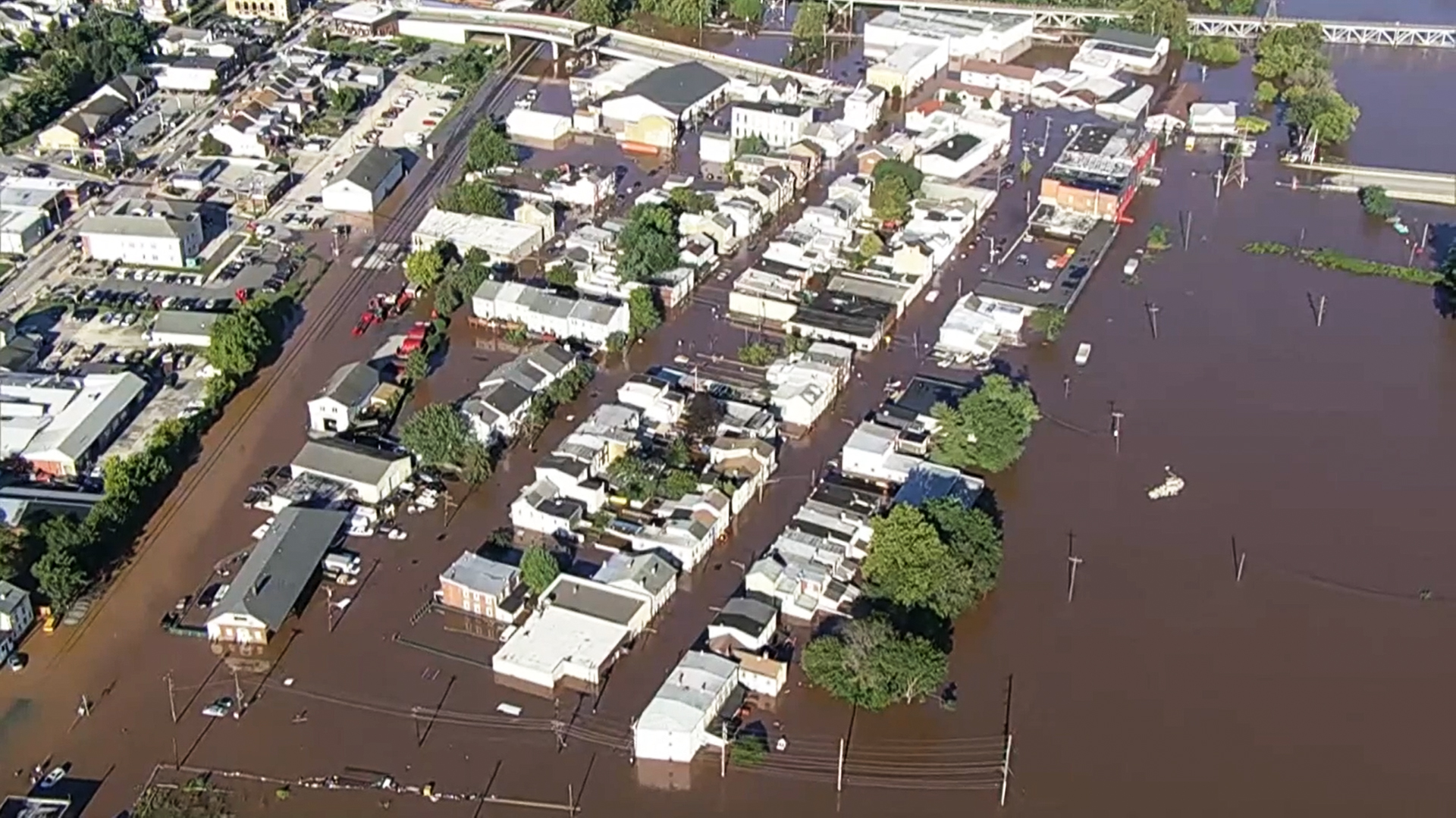 Video shows destruction in Philadelphia area after Ida unleashes tornadoes, rain