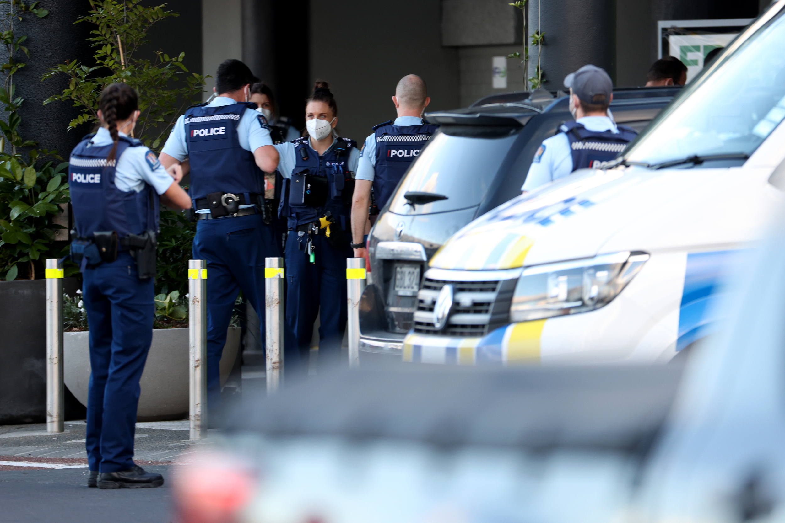 New Zealand police kill 'violent extremist' after he stabs 6 people