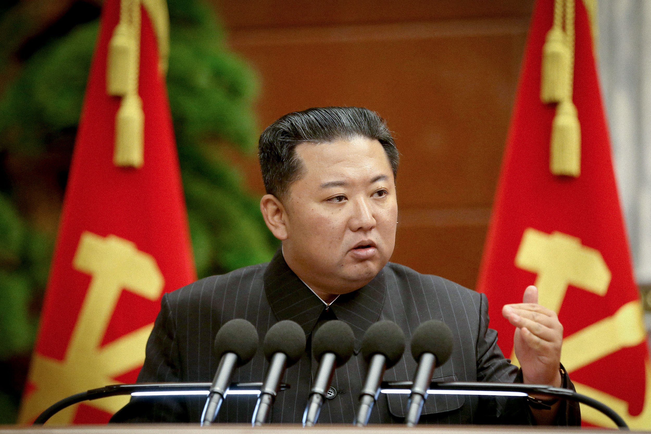 Kim Jong Un rejects vaccine offer to fight Covid North Korea 'style'