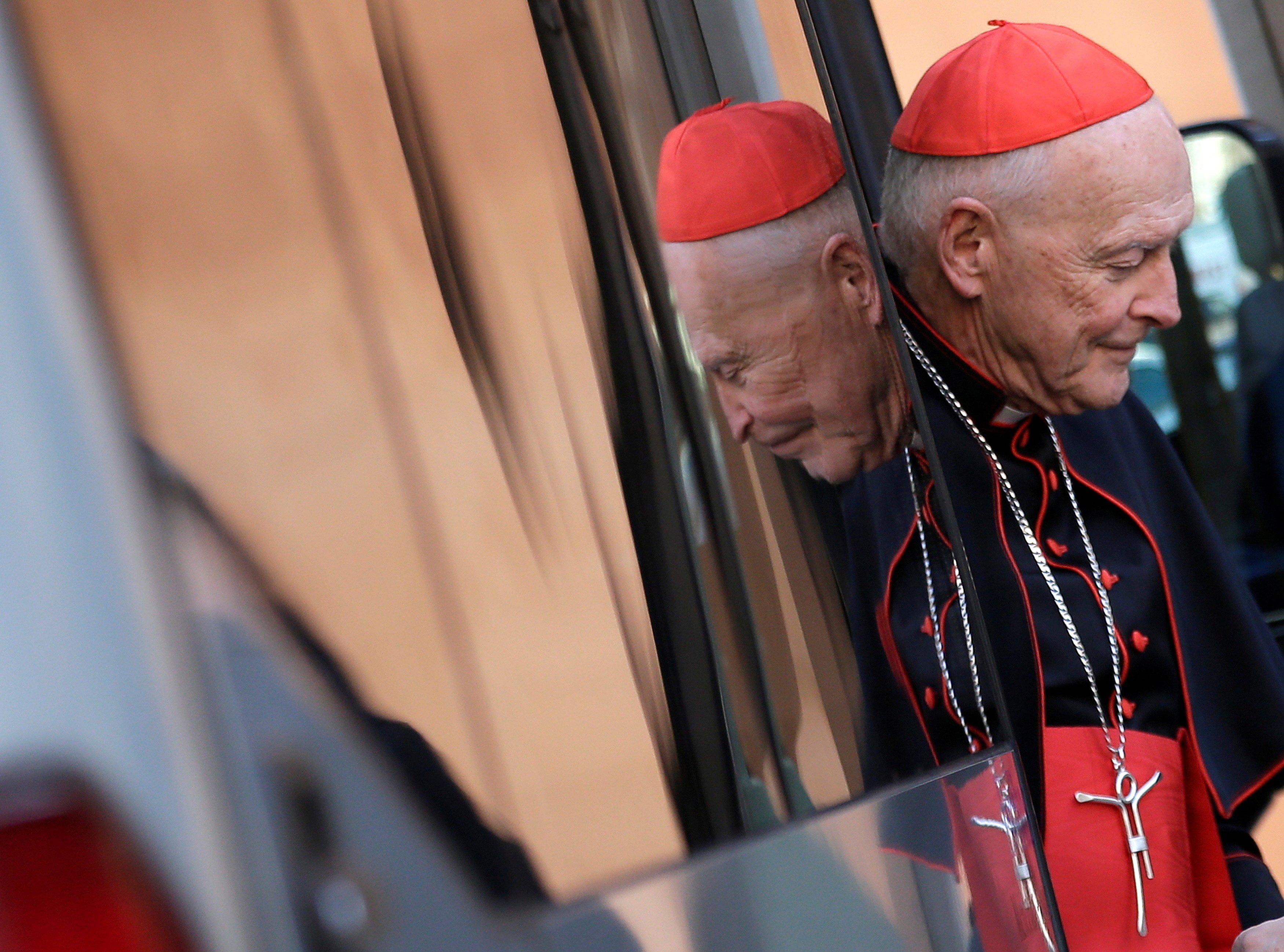 Ex-Cardinal Theodore McCarrick, 91, pleads not guilty to sex assault