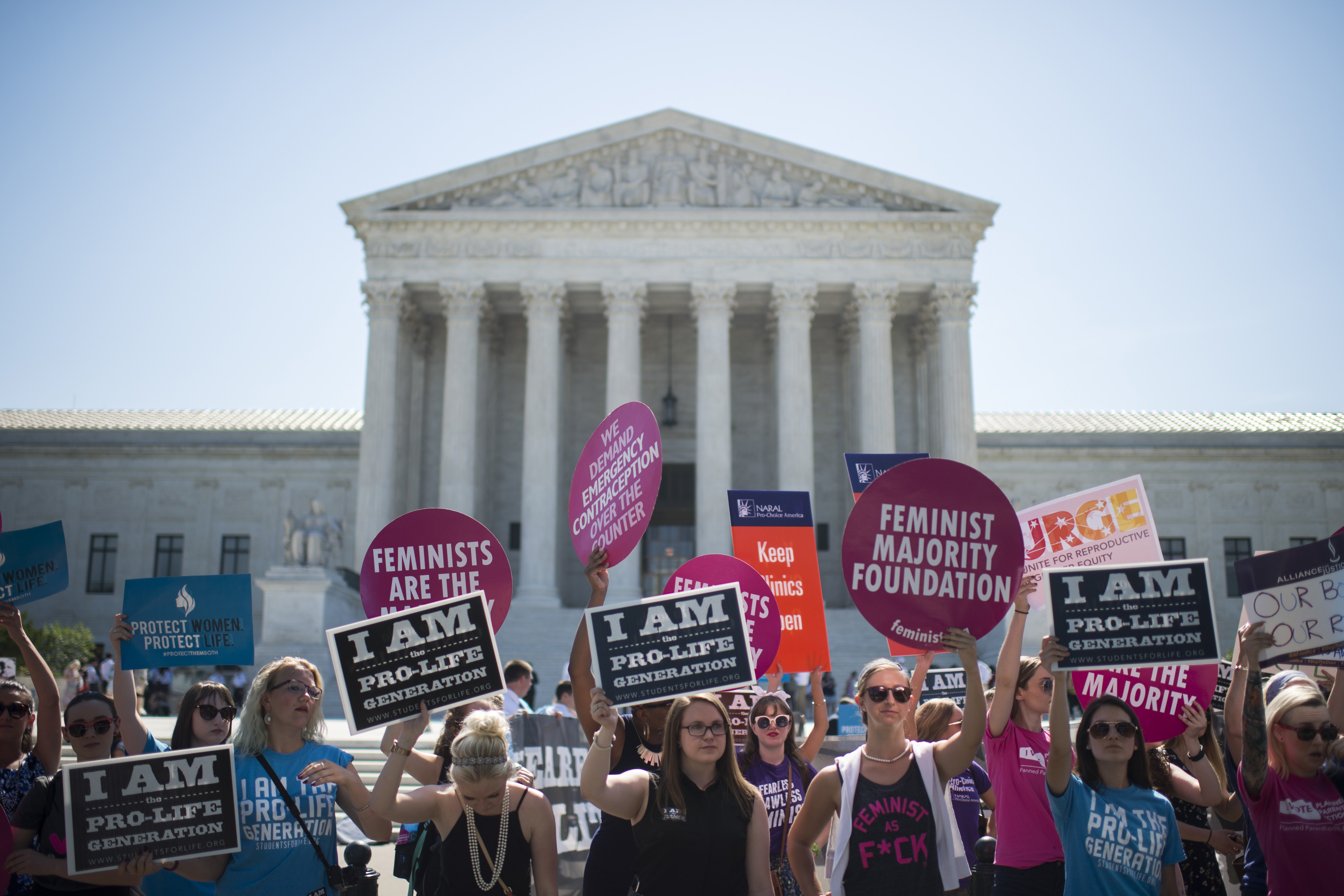 Texas judge temporarily shields clinics from anti-abortion group's lawsuits