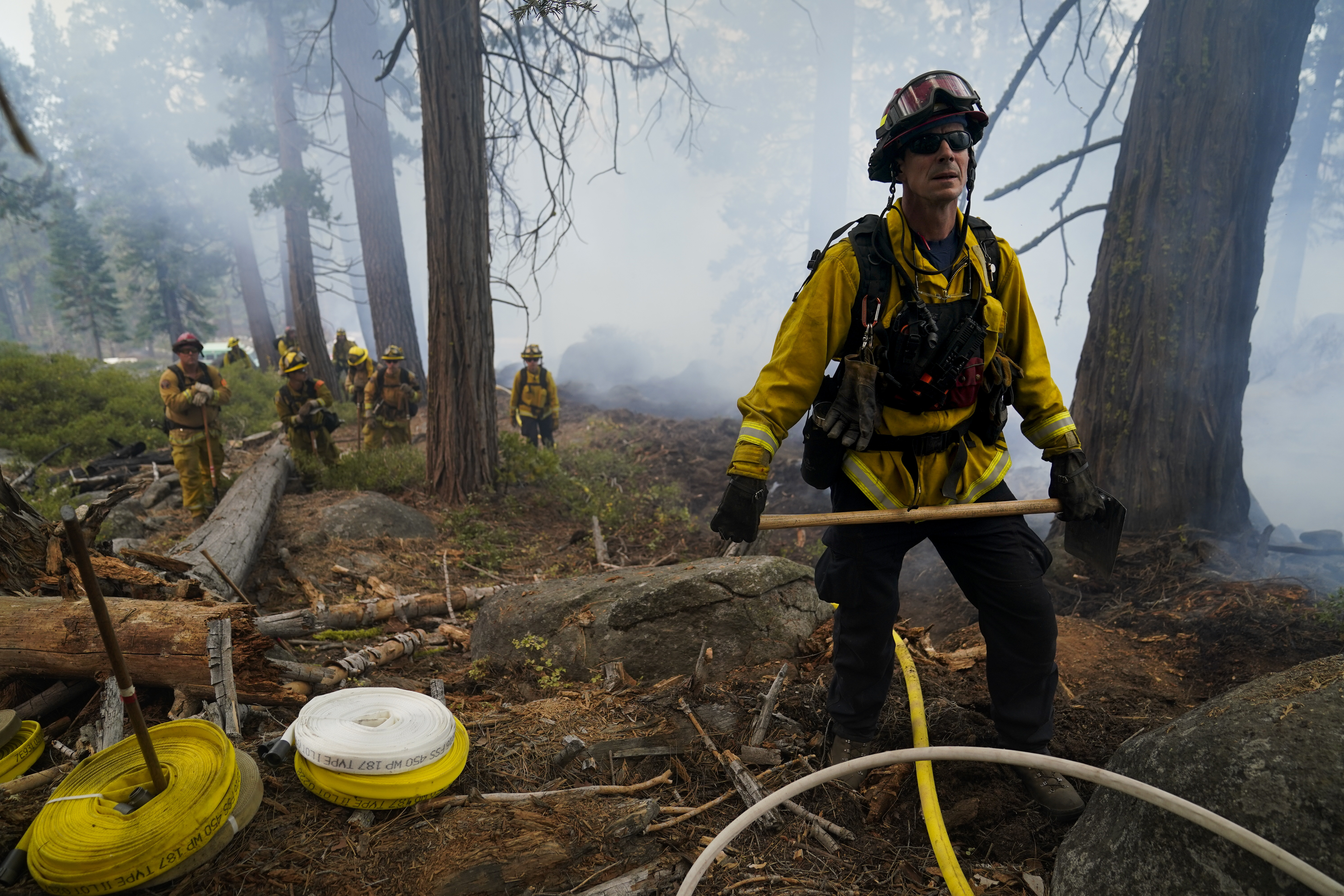 South Lake Tahoe residents can return as fire threat eases