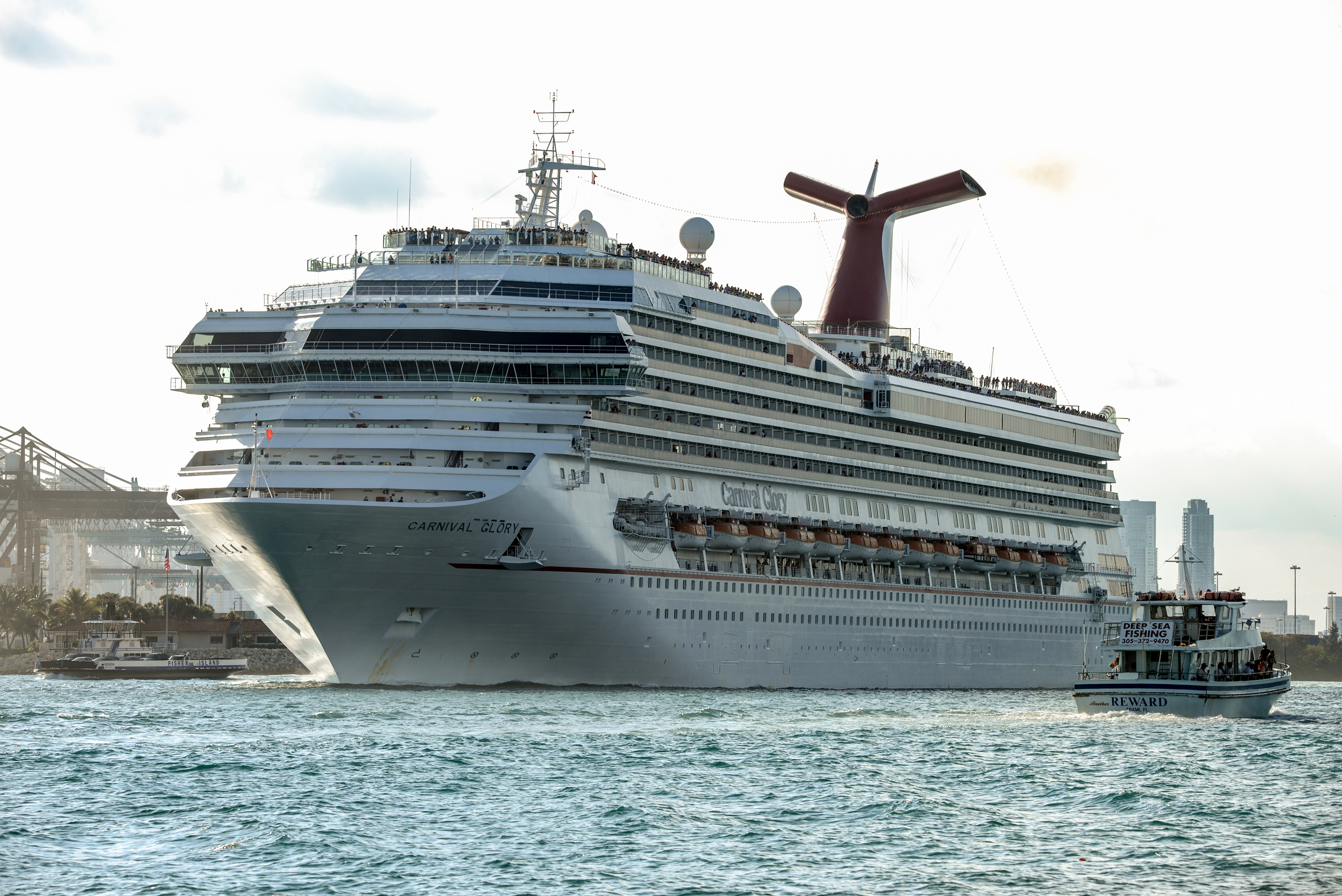 Carnival docks ship in New Orleans as emergency housing for Ida response crews
