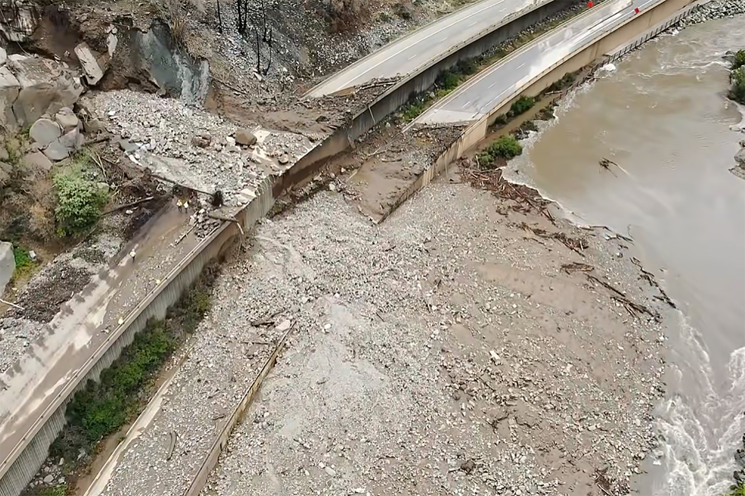 Mudslide on scenic Colorado highway tests limits of aging infrastructure amid climate change