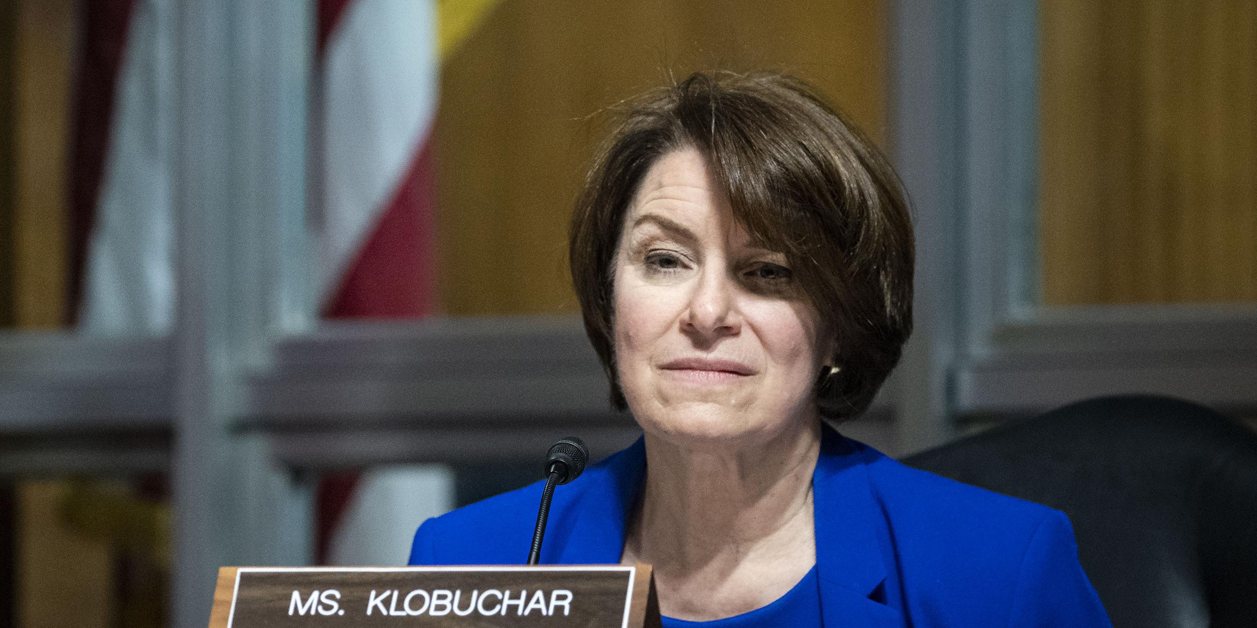 Sen. Amy Klobuchar reveals breast cancer diagnosis, says treatment 'went well'