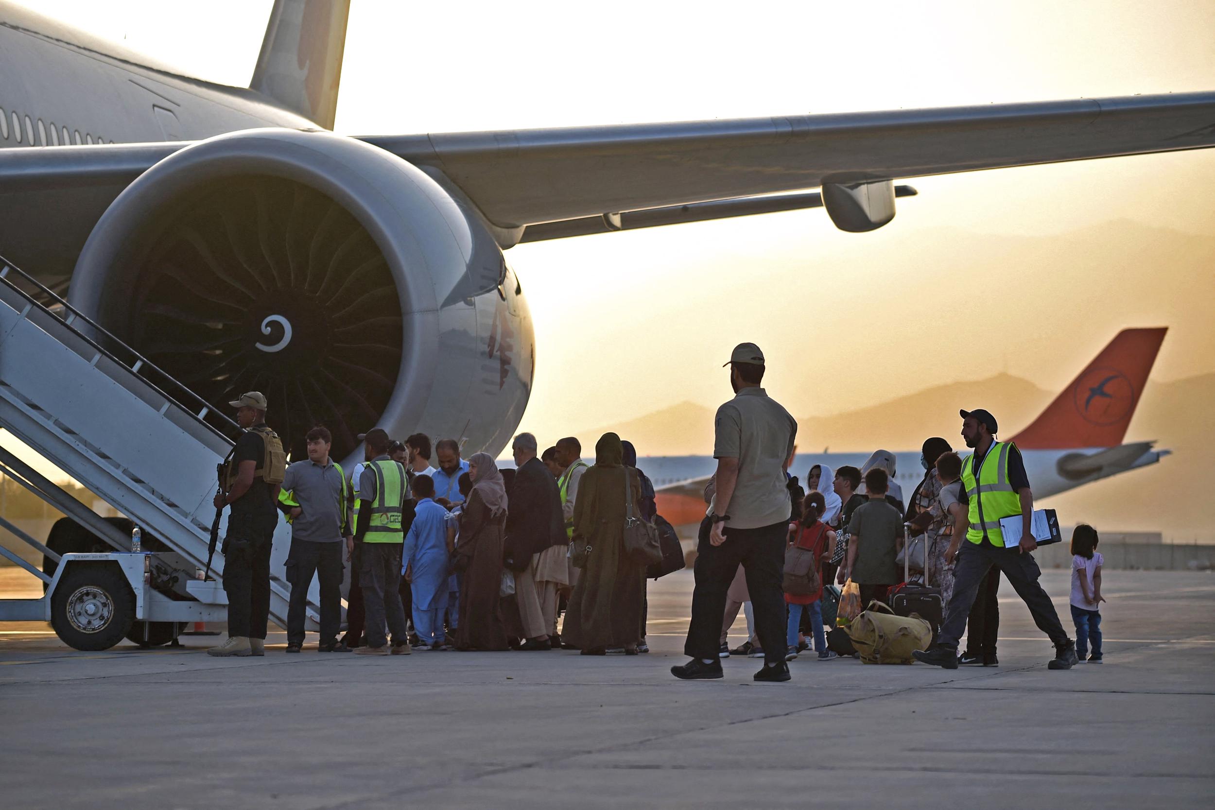First international passenger flight departs from Kabul since U.S. exit