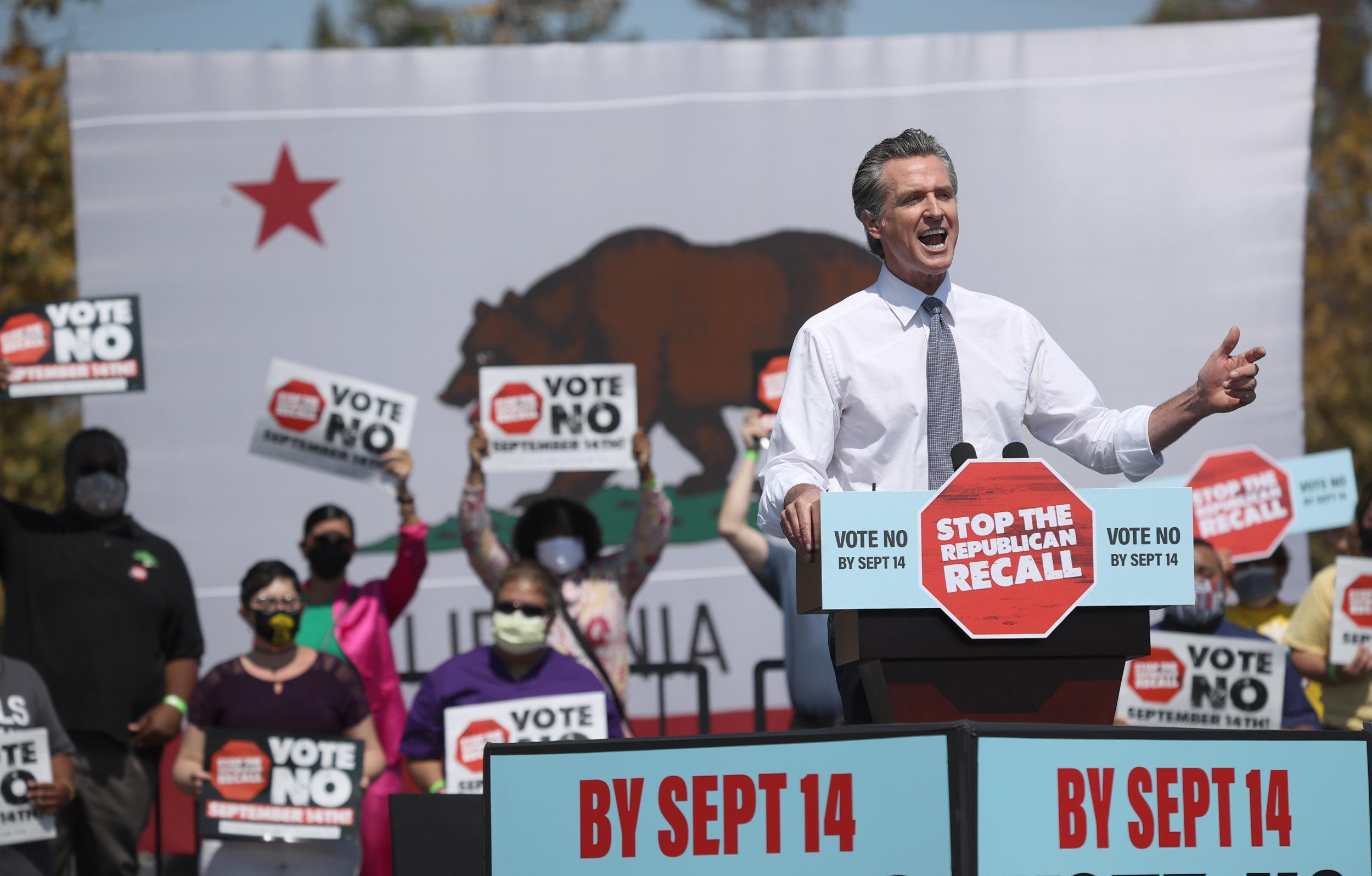 Biden to campaign for California Gov. Gavin Newsom on eve of recall vote