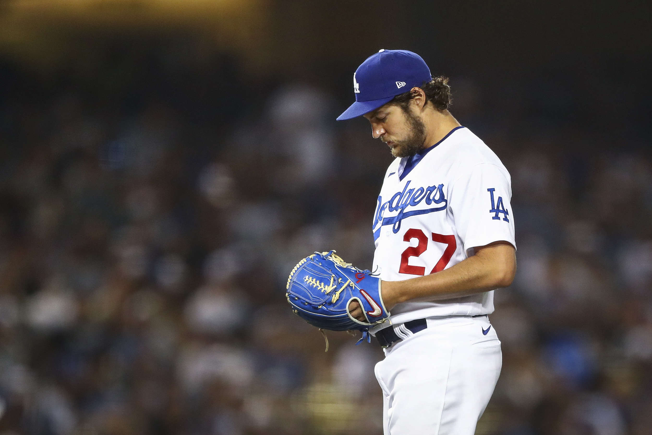 Dodgers' Trevor Bauer to miss rest of season due to MLB sexual assault investigation
