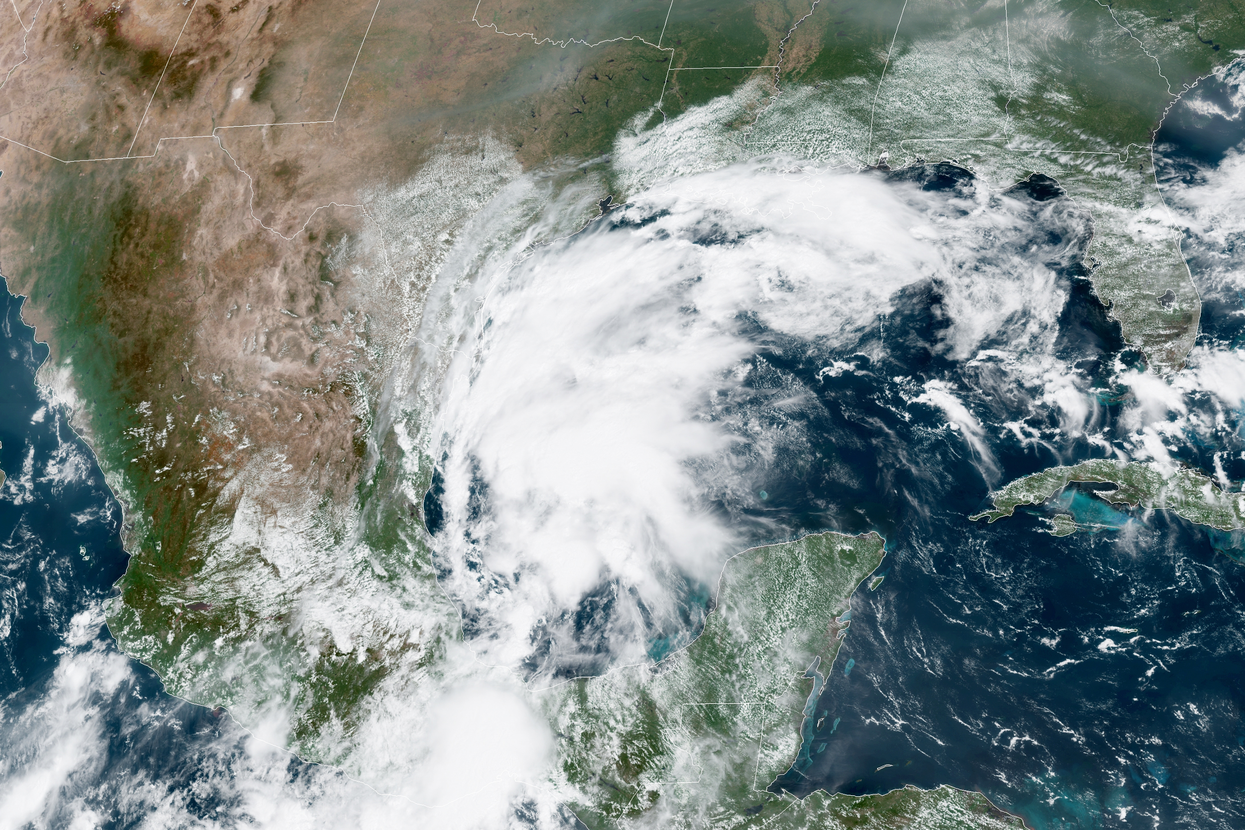 Tropical Storm Nicholas forms in Gulf of Mexico, targets Texas coast
