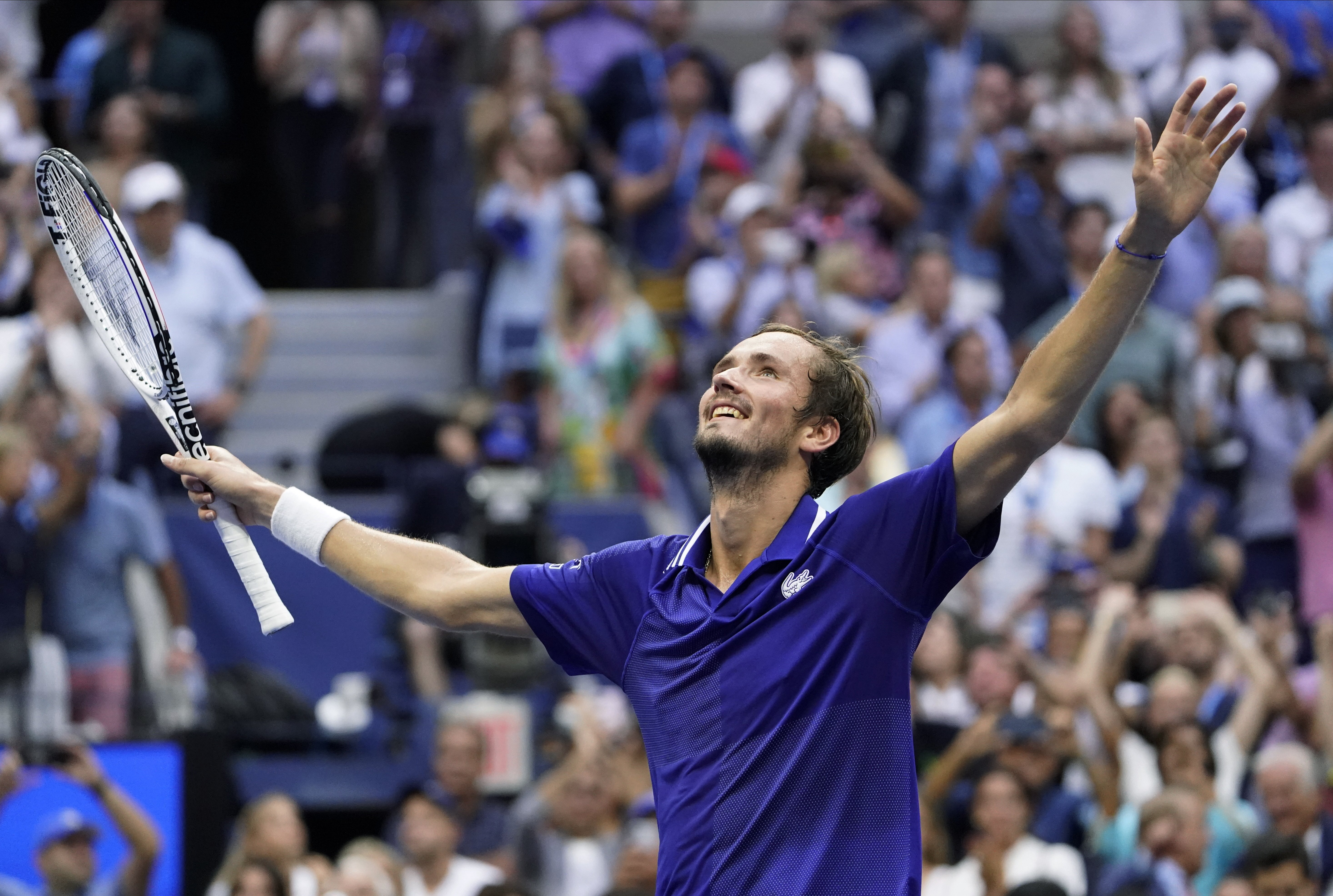 Medvedev ends Djokovic's bid for calendar-year Grand Slam at US Open