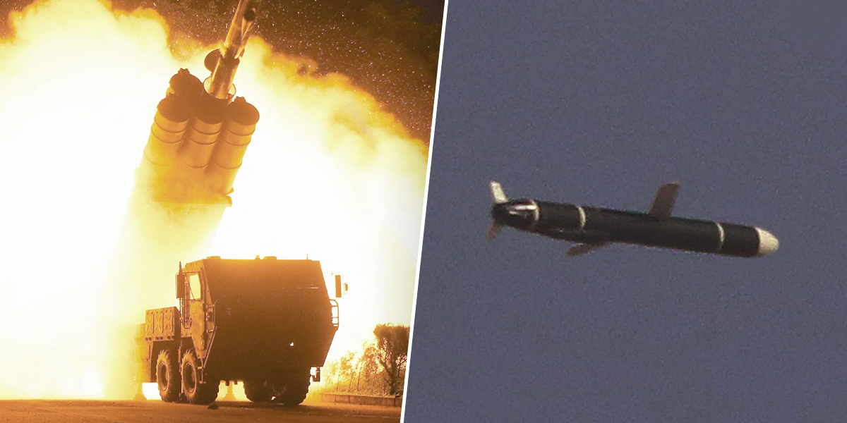 North Korea test-fires new cruise missile, its first such launch in months