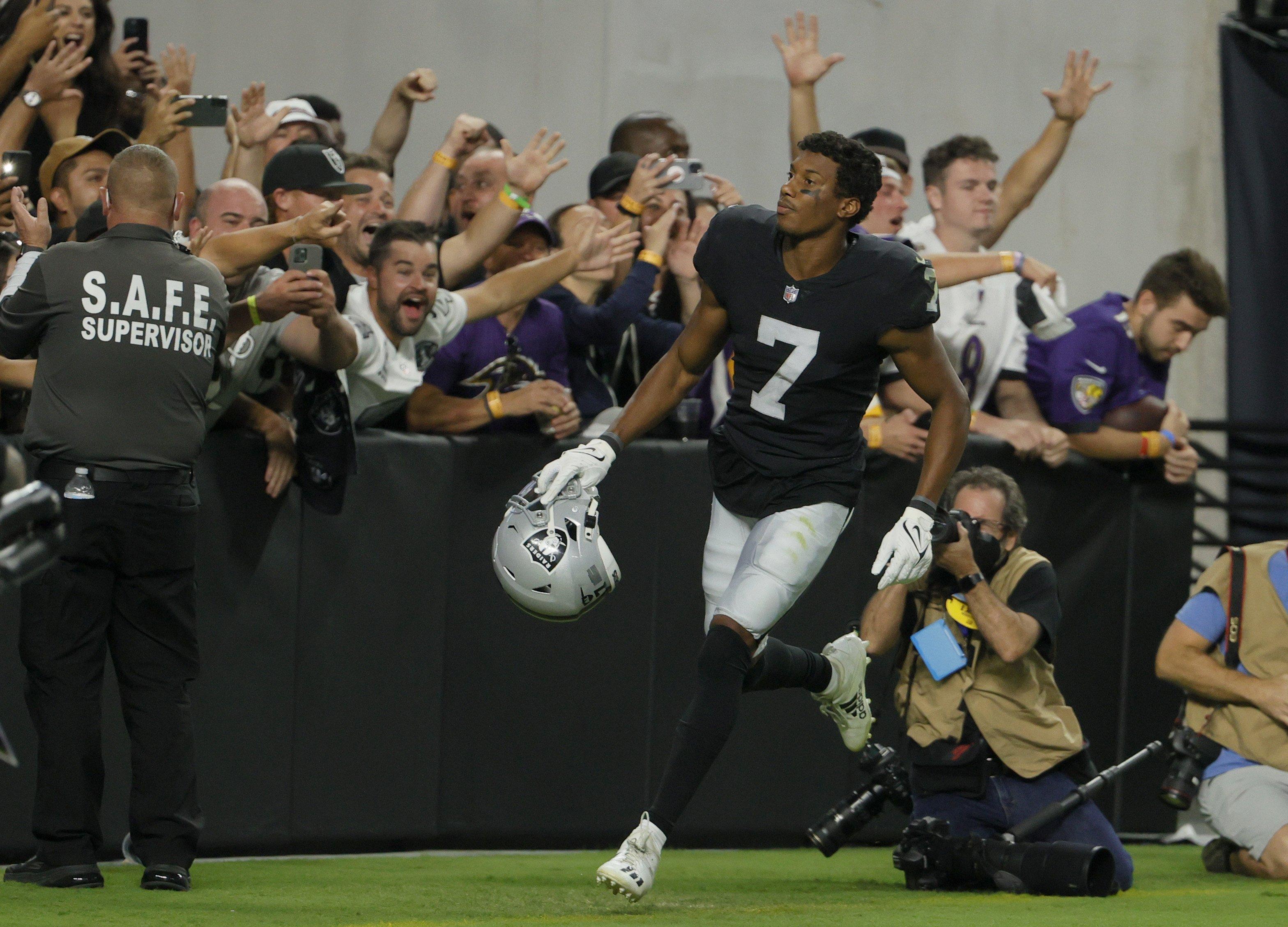 Raiders outlast Ravens for wild walk-off OT win on MNF