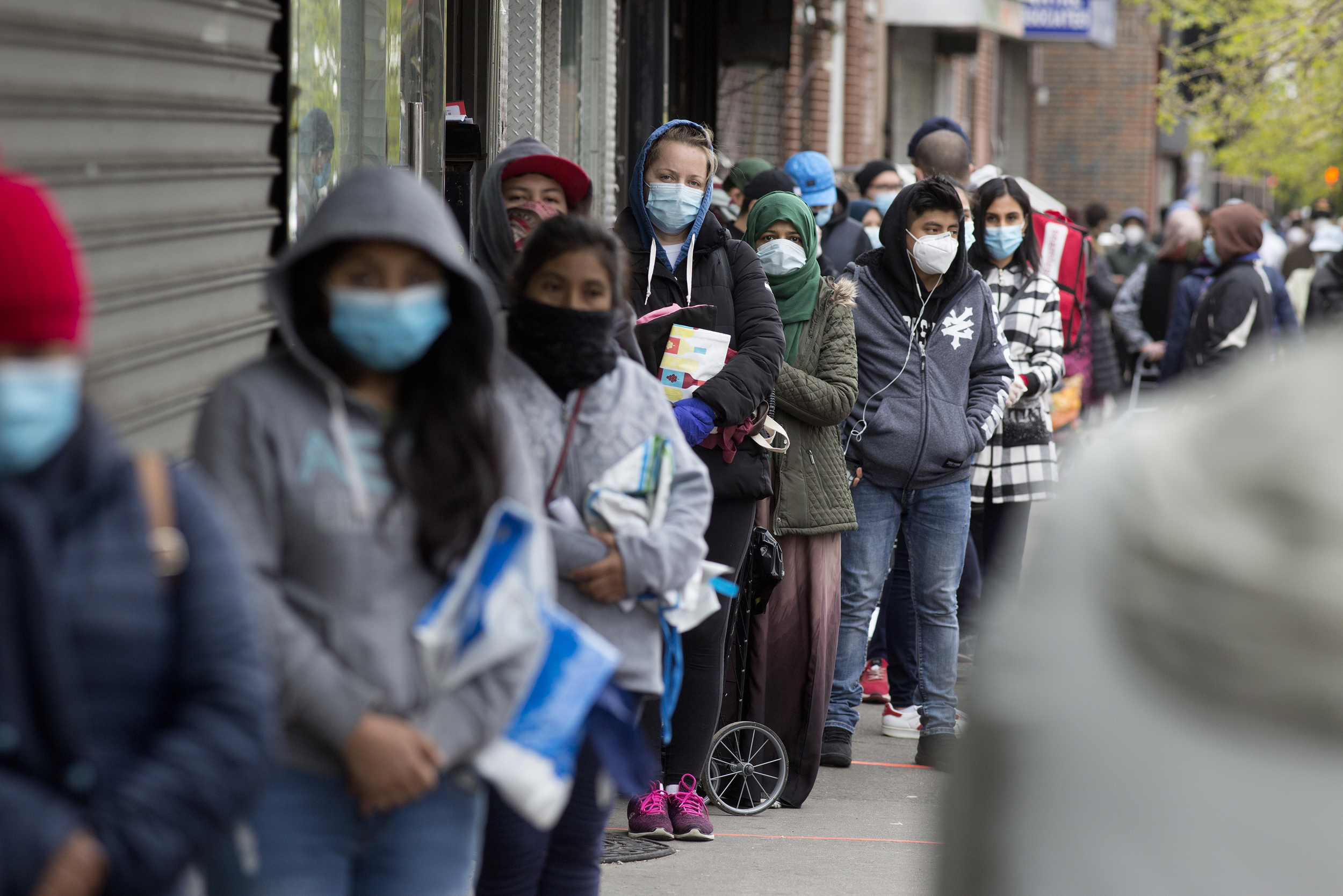 U.S. poverty declined overall last year due to pandemic relief, Census says