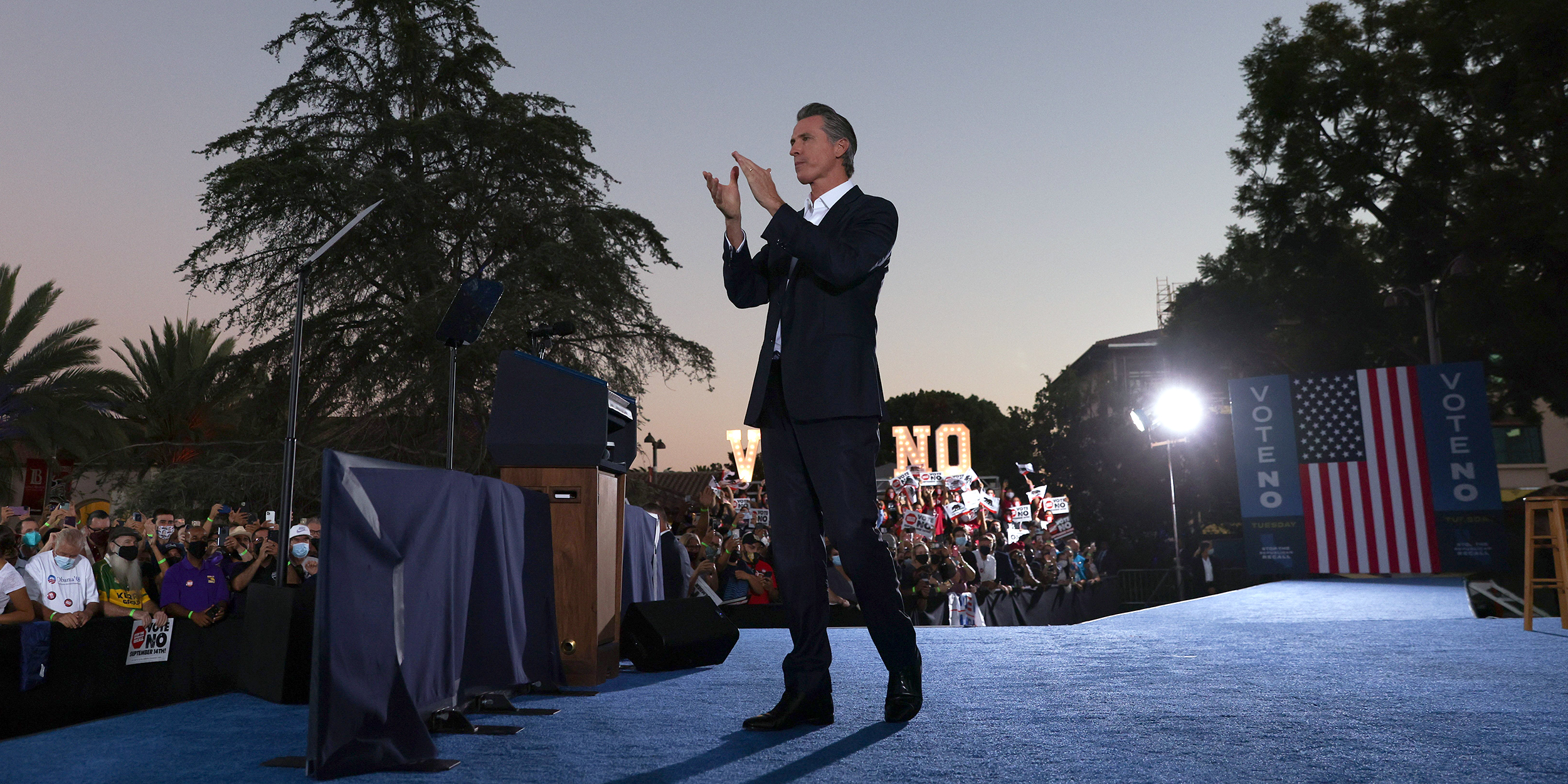 Newsom cruises to victory in recall election, will stay in office, NBC News projects