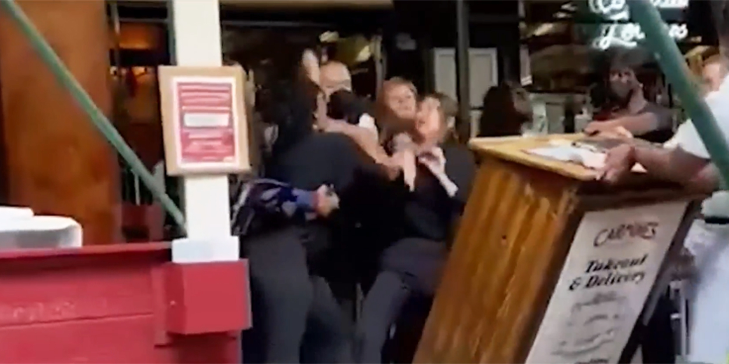 Women who fought hostess at Carmine's in NYC claim slurs used before brawl