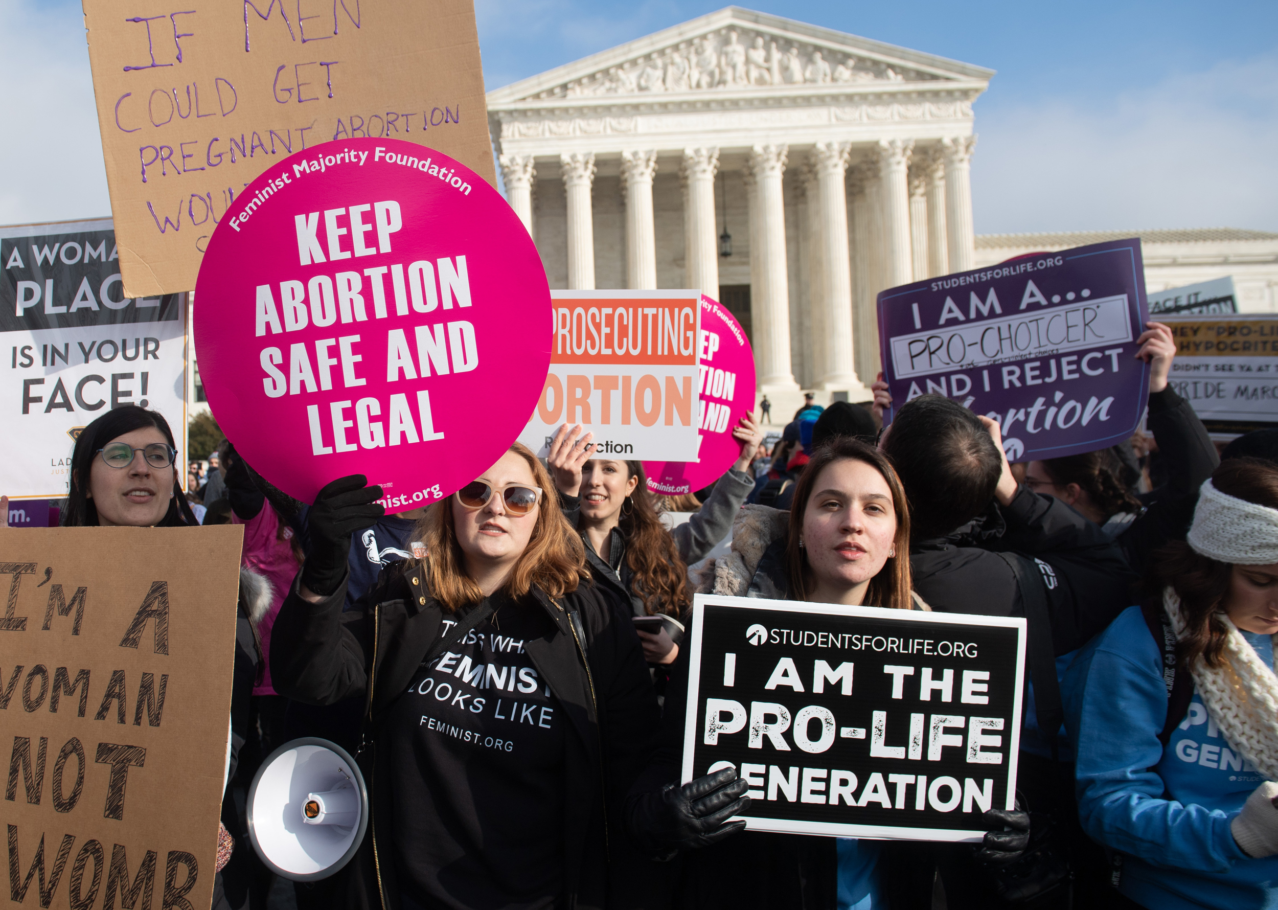 Supreme Court urged by nearly 900 state legislators to uphold Roe v. Wade