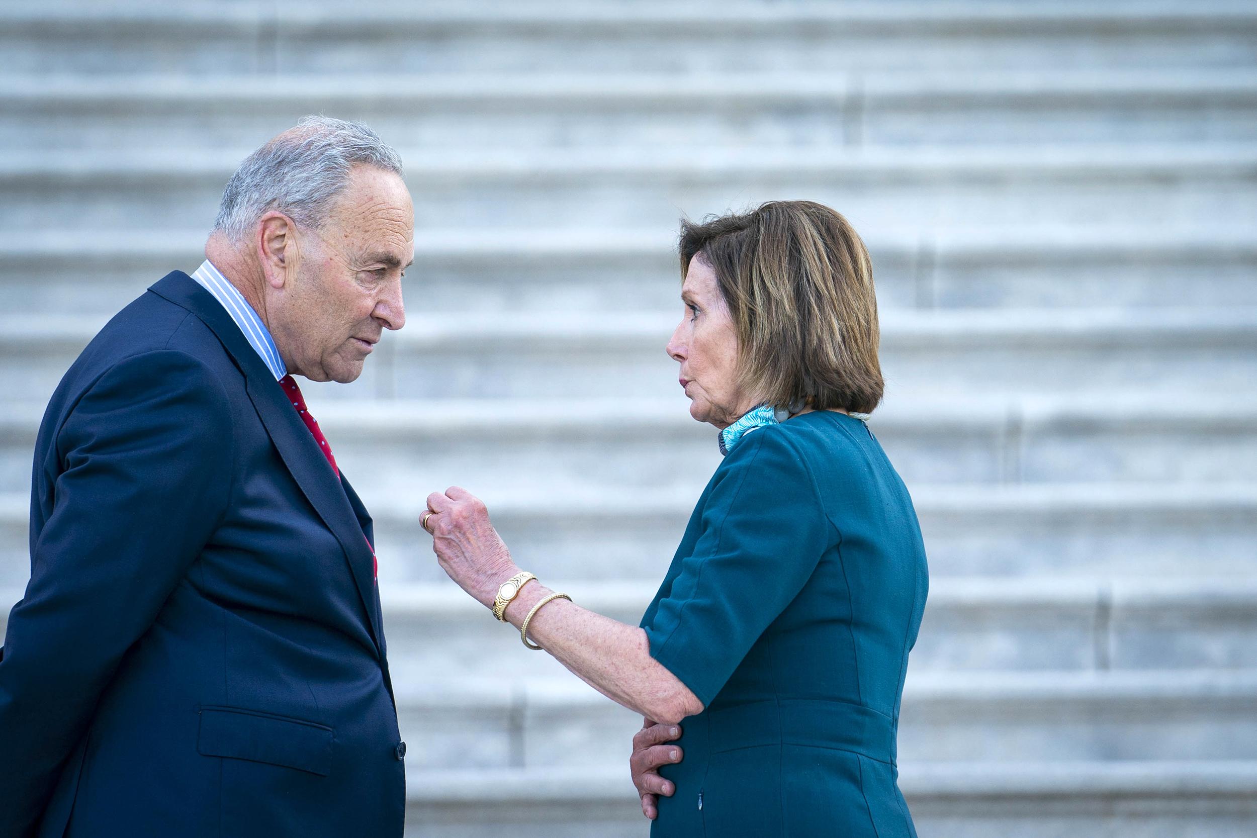 Democrats' big bill faces a cliff-filled future