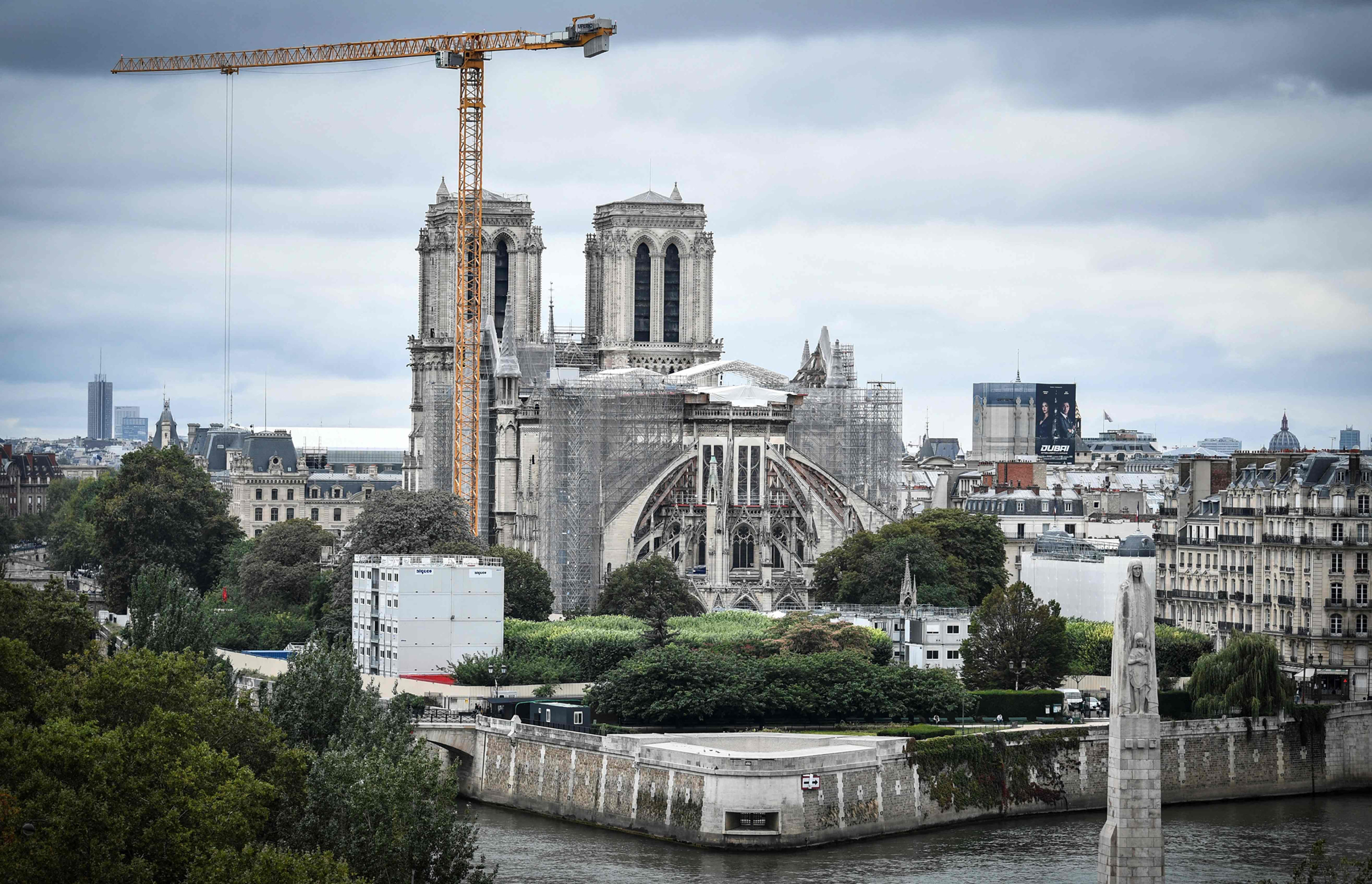 France's Notre Dame cathedral secured and ready to be rebuilt
