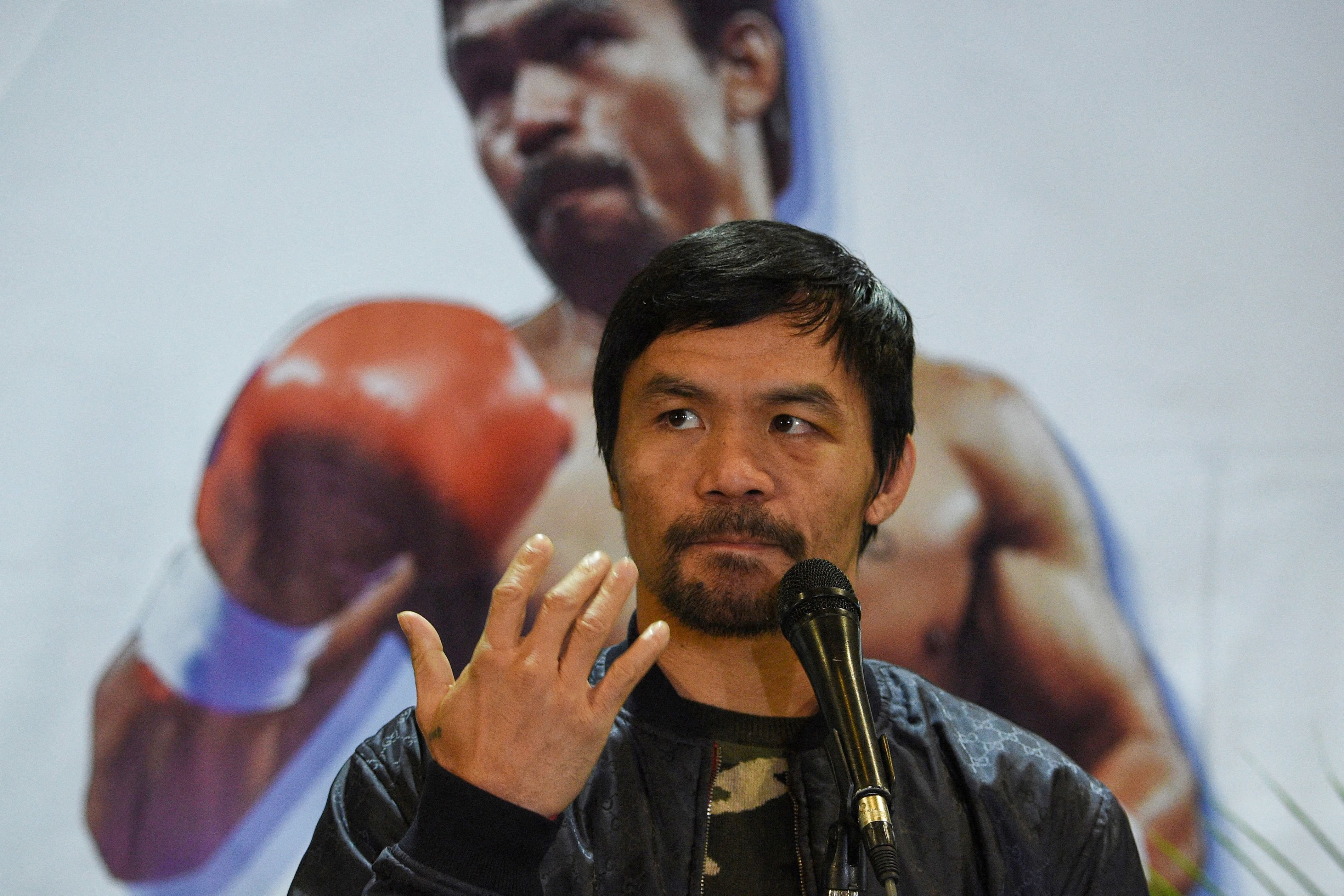 Boxer Manny Pacquiao to run for Philippine president