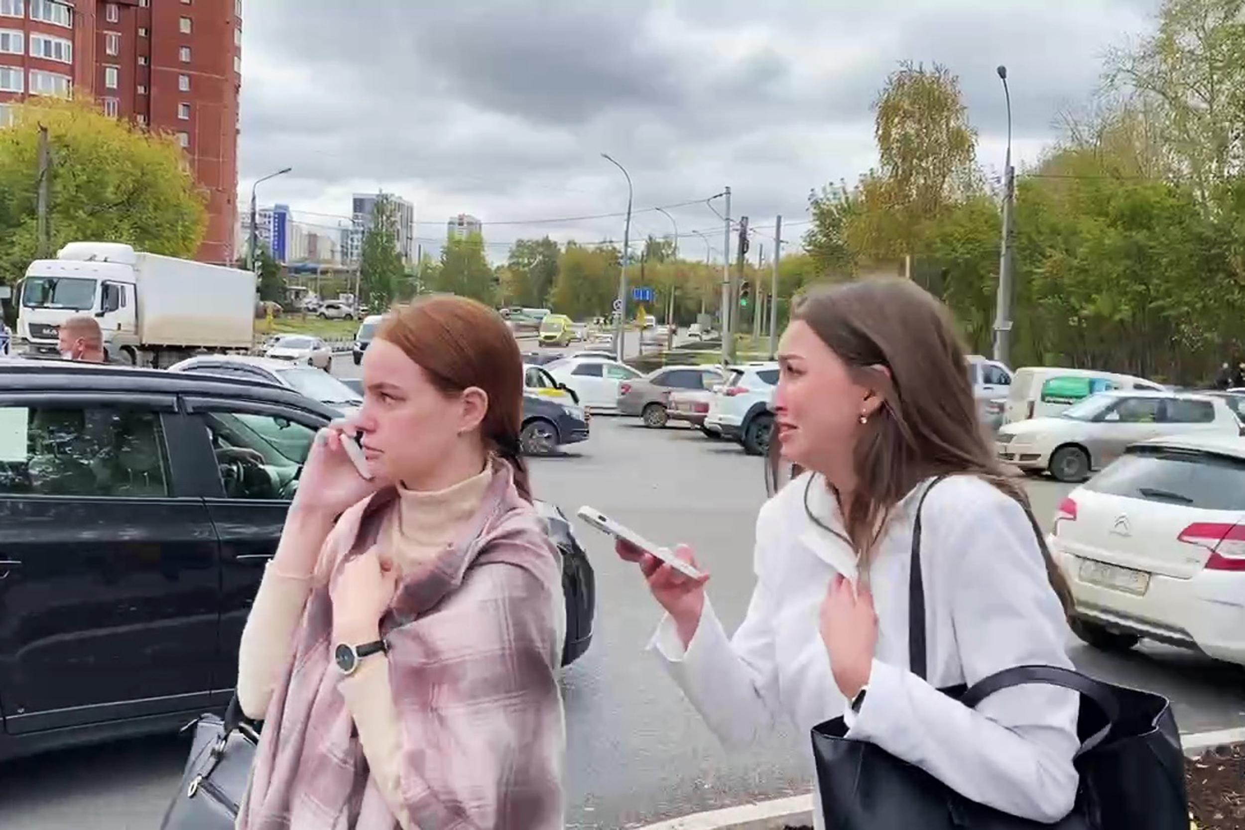 Gunman kills 8, injures 11 at Russian university
