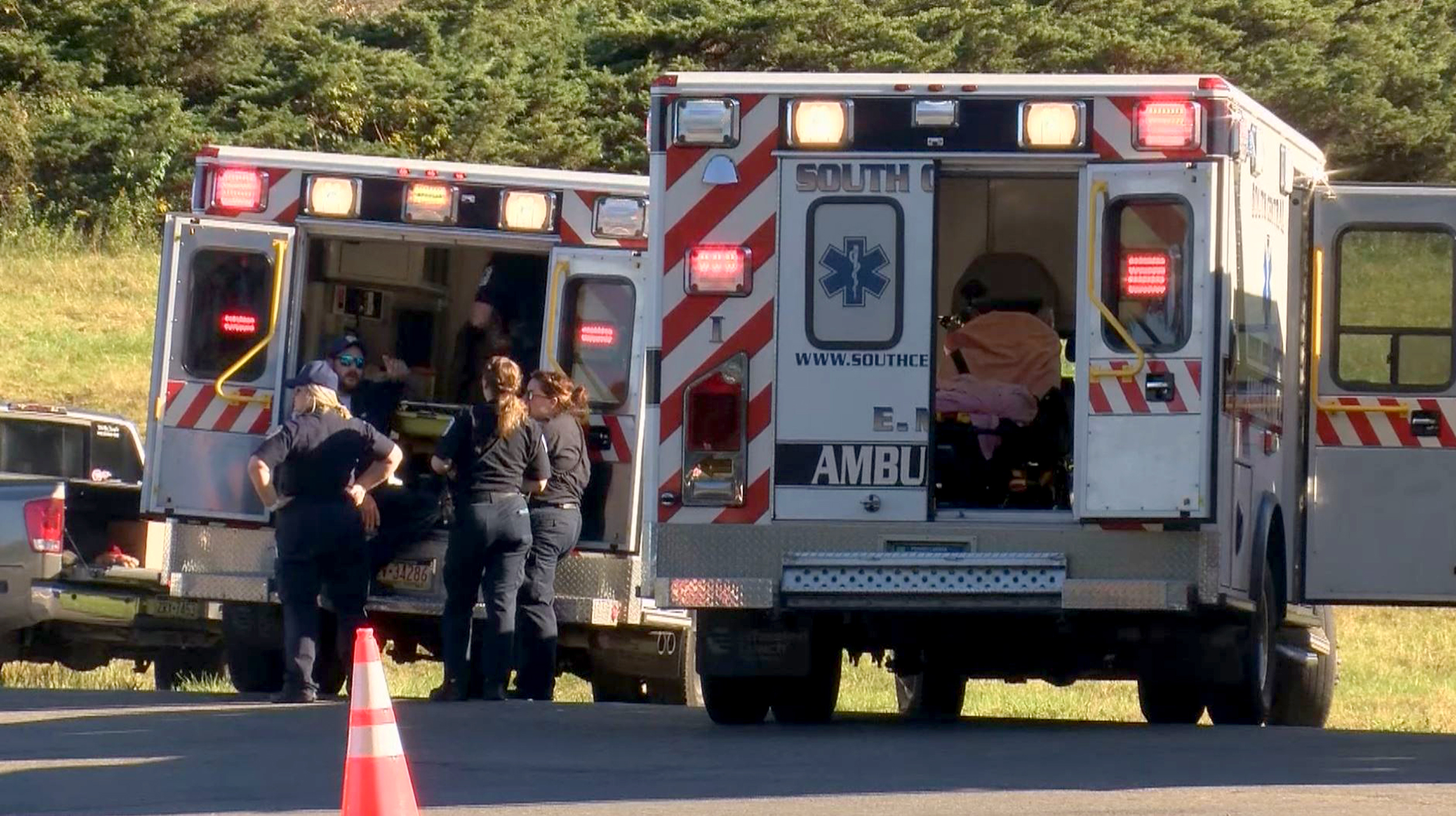 Bus carrying church youths crashes, injuring more than 30 in Pennsylvania