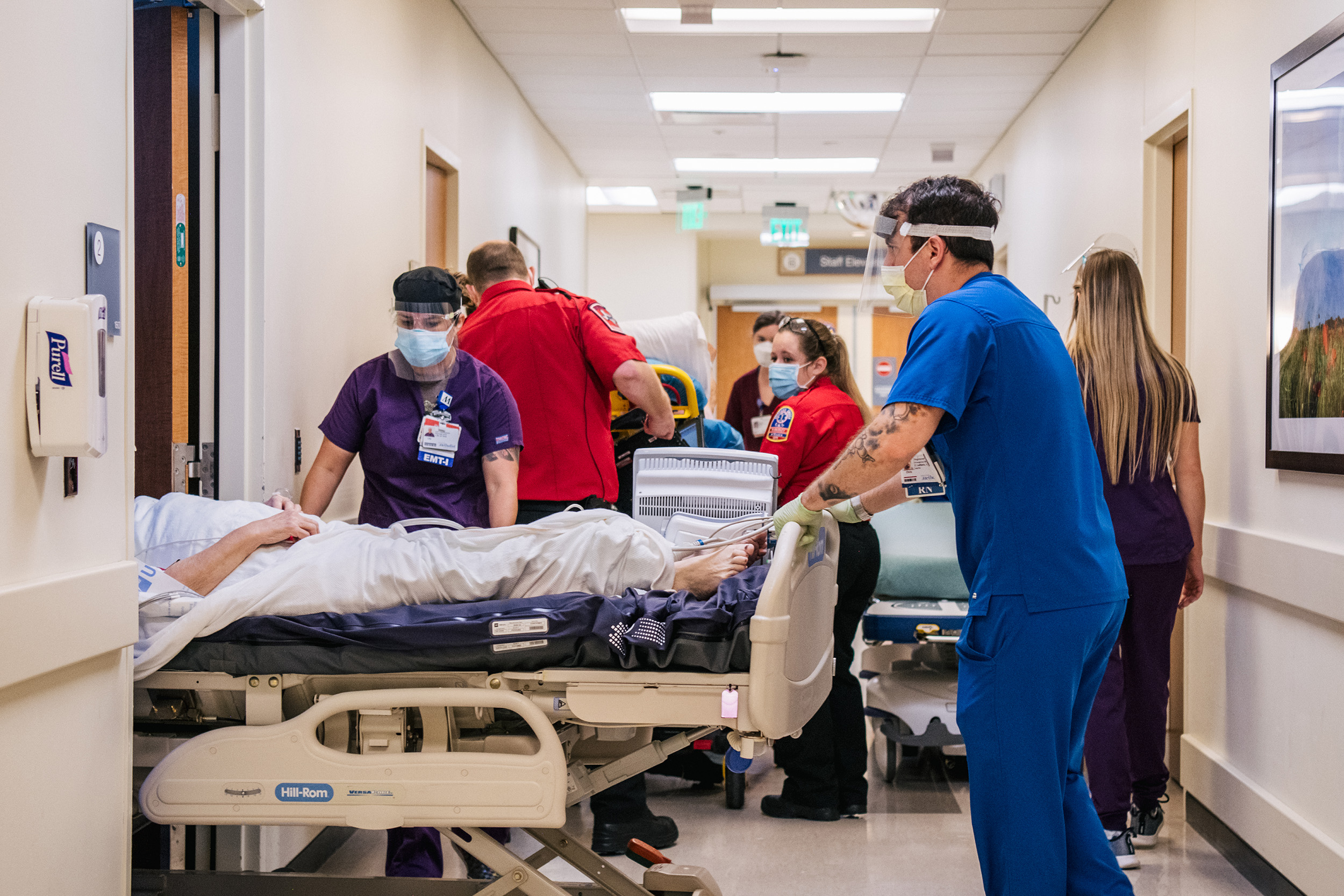 ICUs at 100 percent capacity: See the hardest-hit hospitals in the U.S.