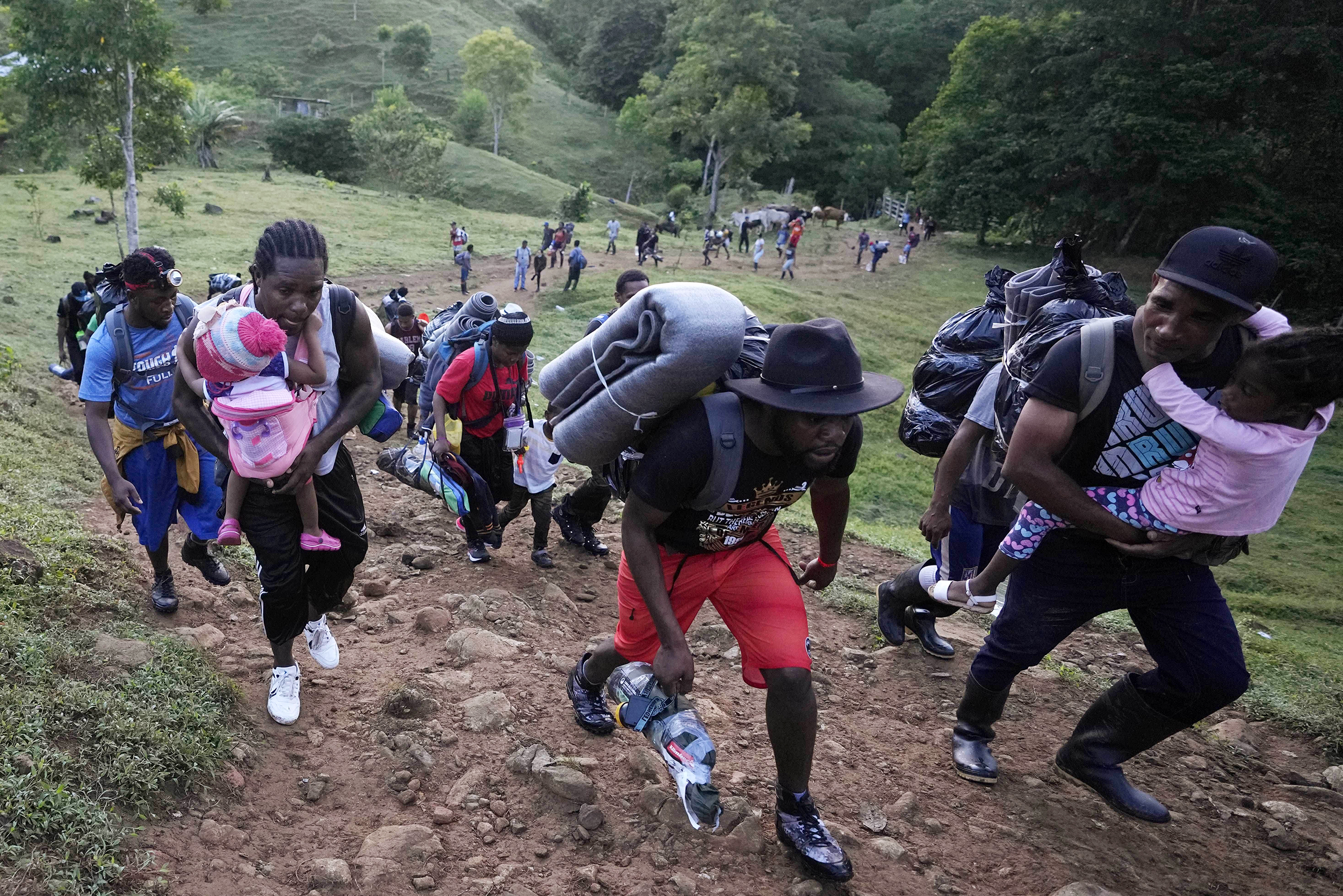 More than 20,000 Haitians are gathered in Colombia for possible migration to U.S.