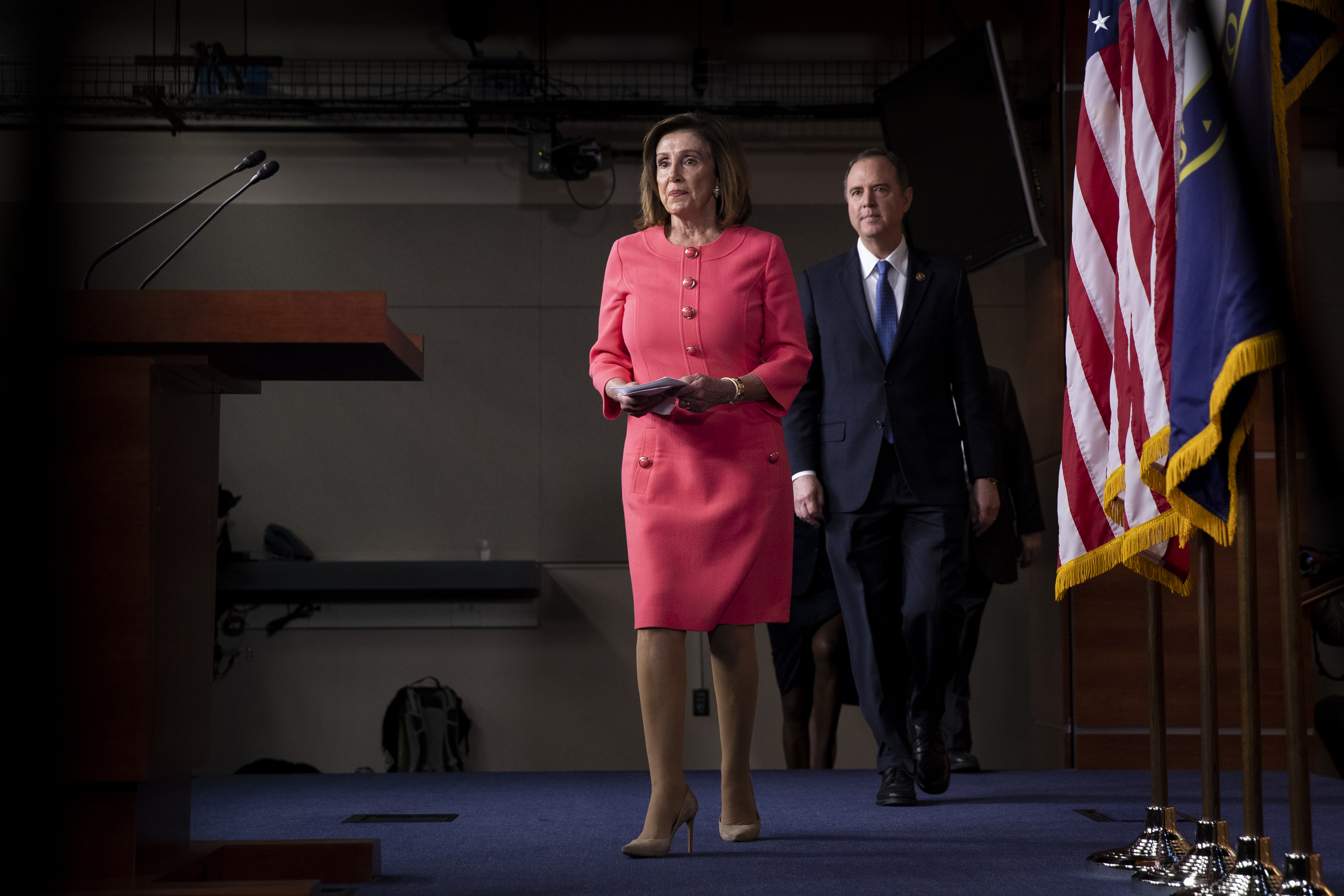 House Democrats press forward with effort to curtail presidential powers after Trump