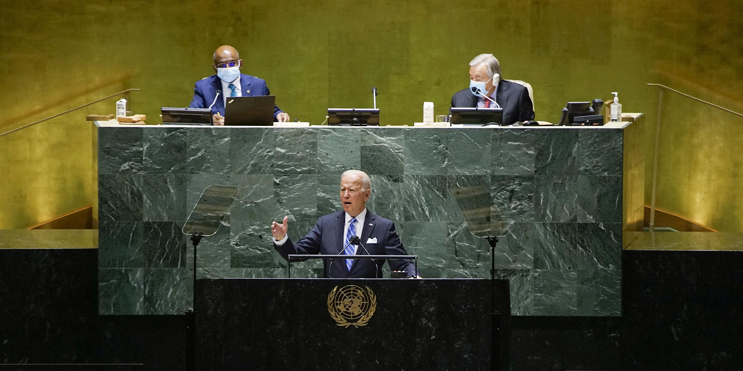 Biden U.N. speech misunderstands the point of 'forever wars'