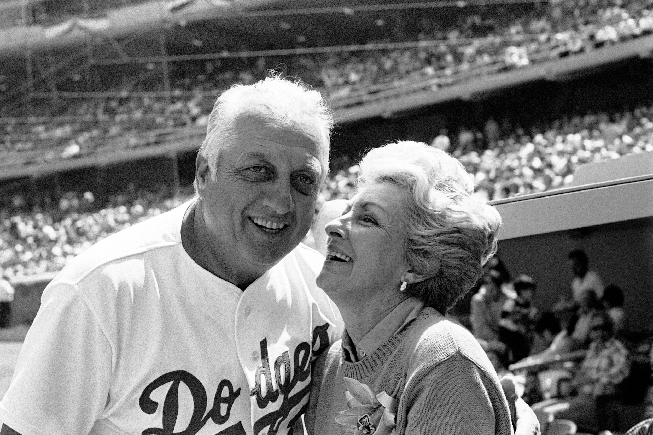 Jo Lasorda, wife of Los Angeles Dodgers manager, dies at 91