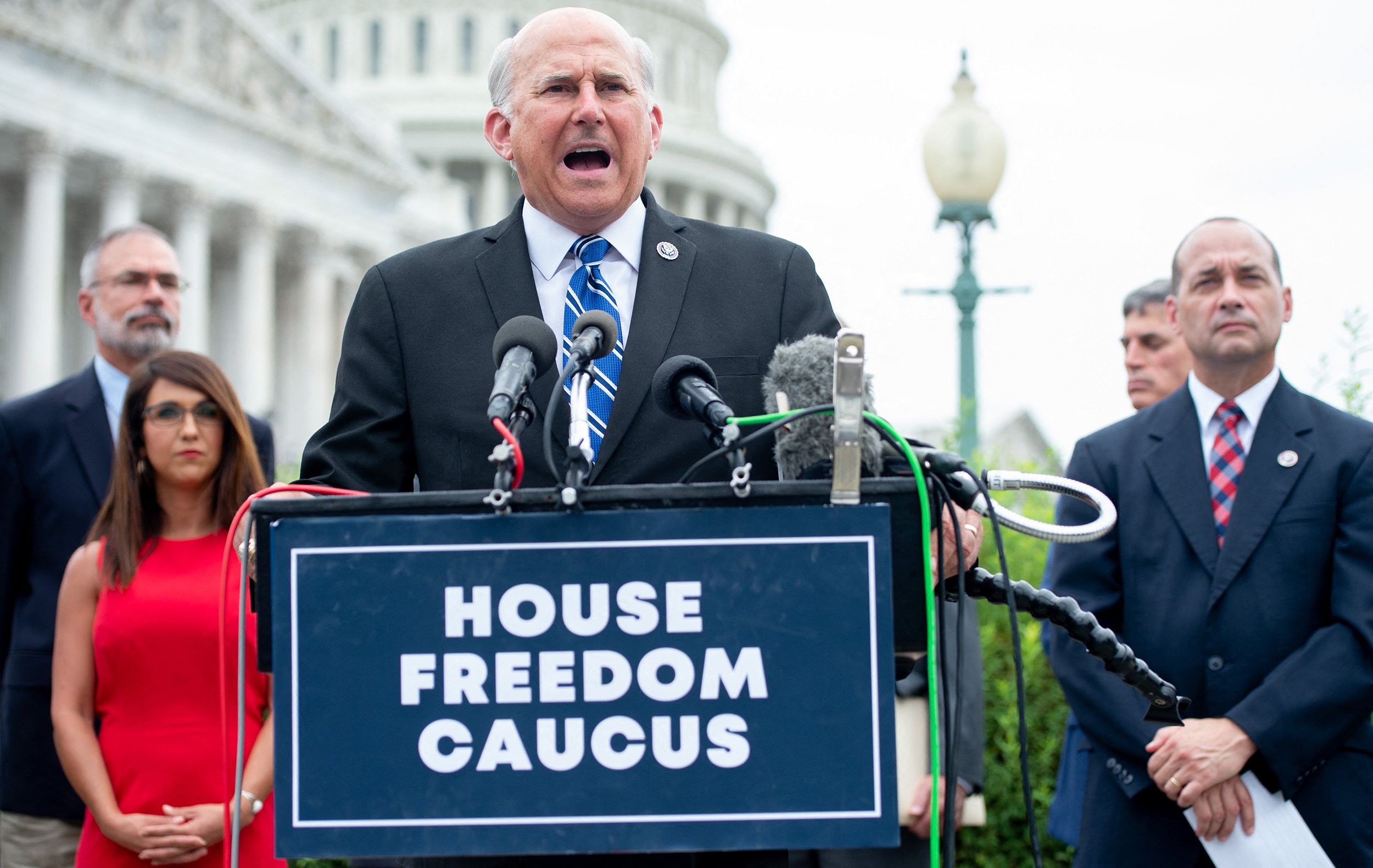 House Freedom Caucus presses GOP to oppose defense bill over including women in the draft
