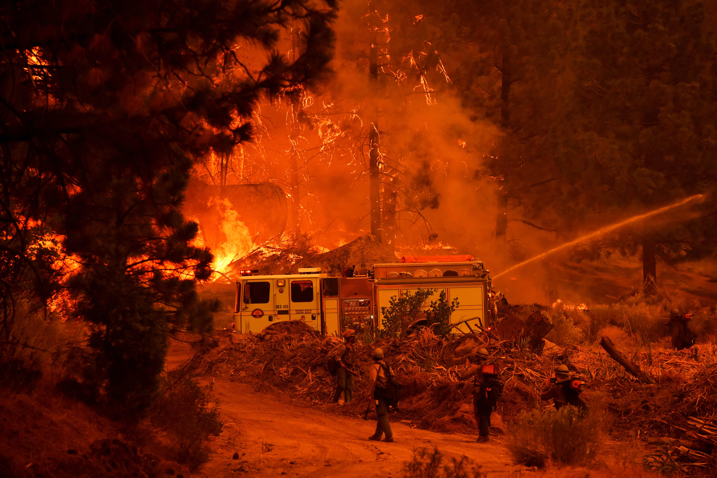 California Gov. Newsom commits $15B to combat wildfire, drought and climate change
