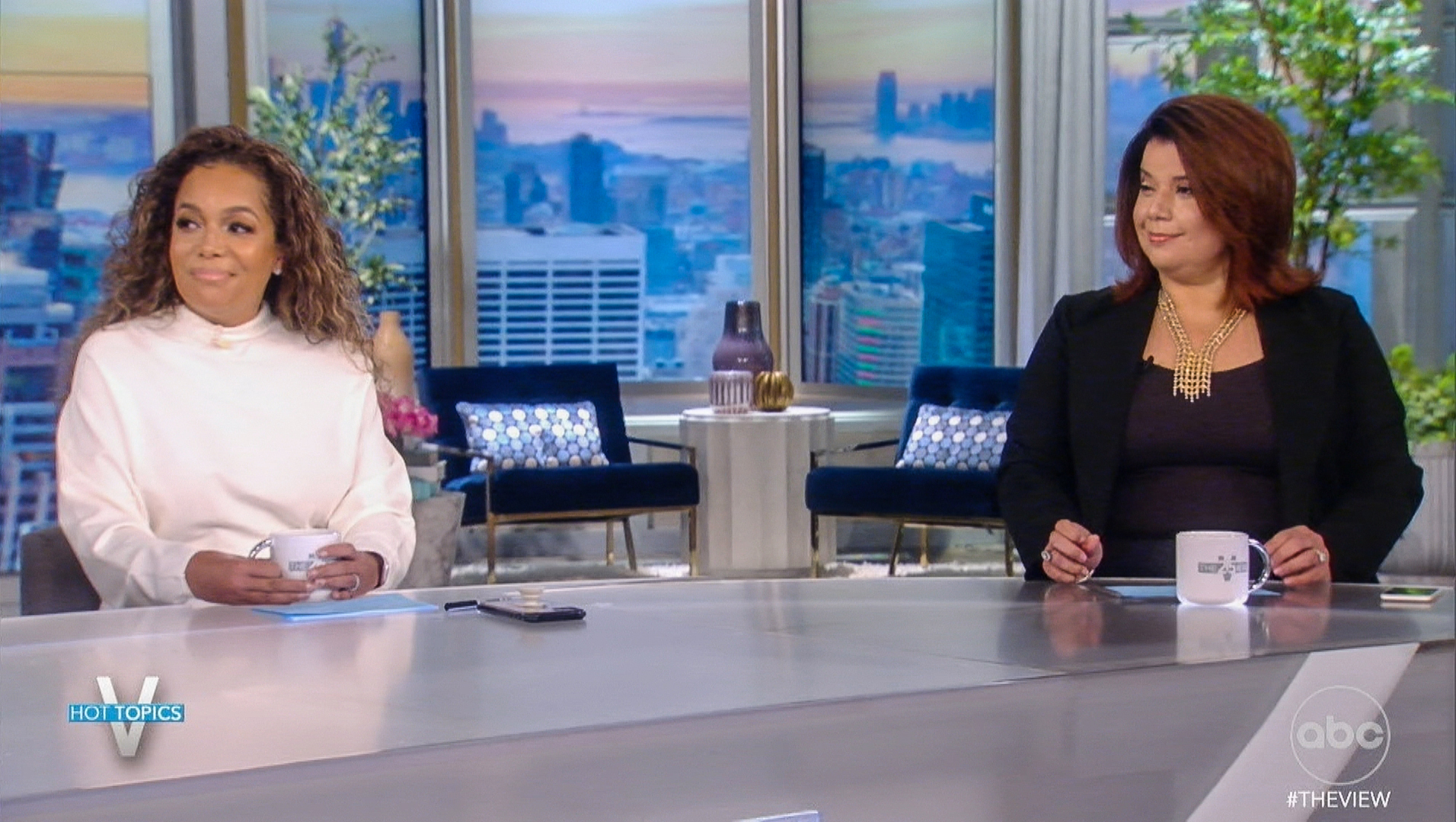 'The View' hosts say they had false positive Covid tests during Kamala Harris interview