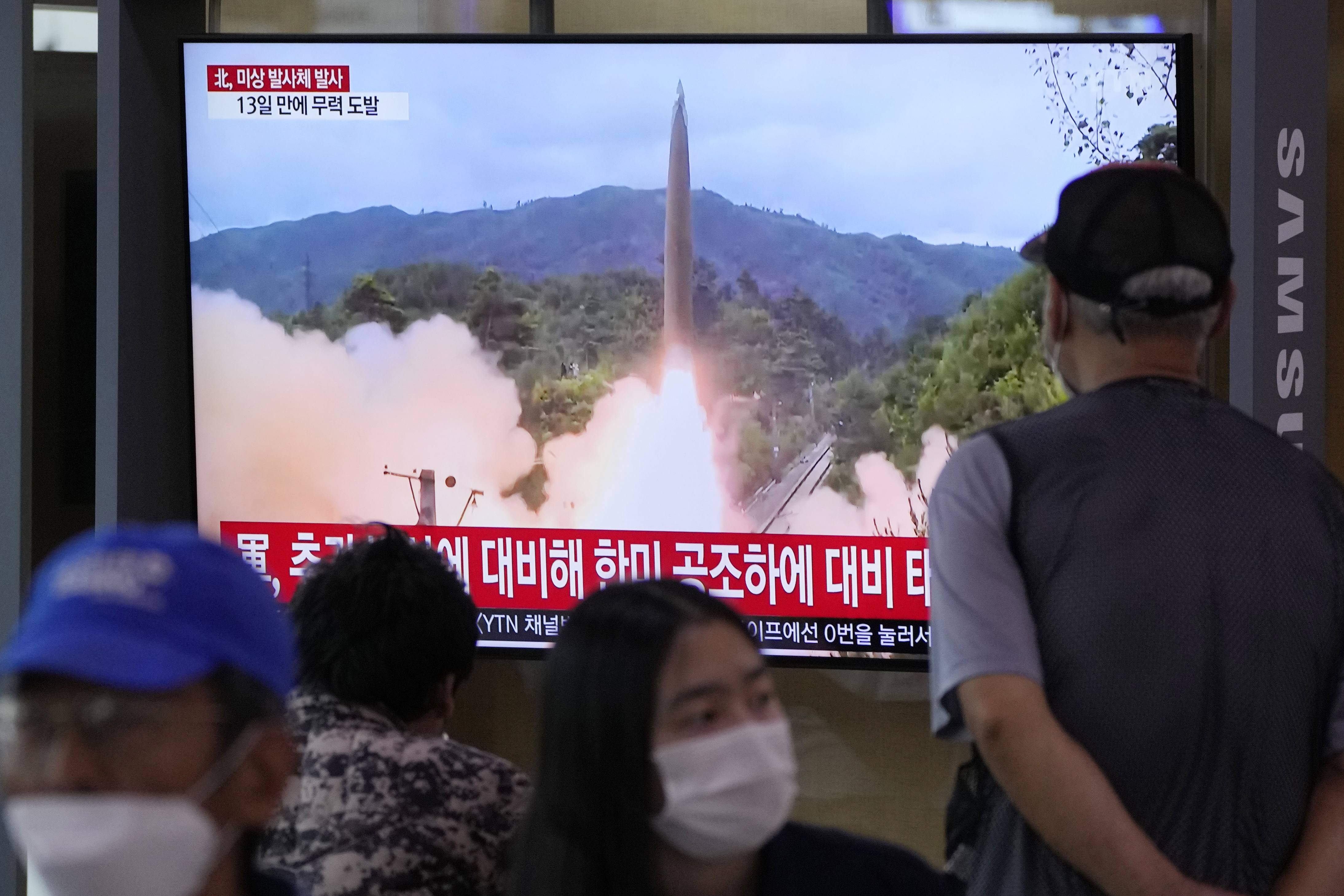 North Korea fires unidentified projectile as U.N. envoy criticizes 'hostile' U.S. policy